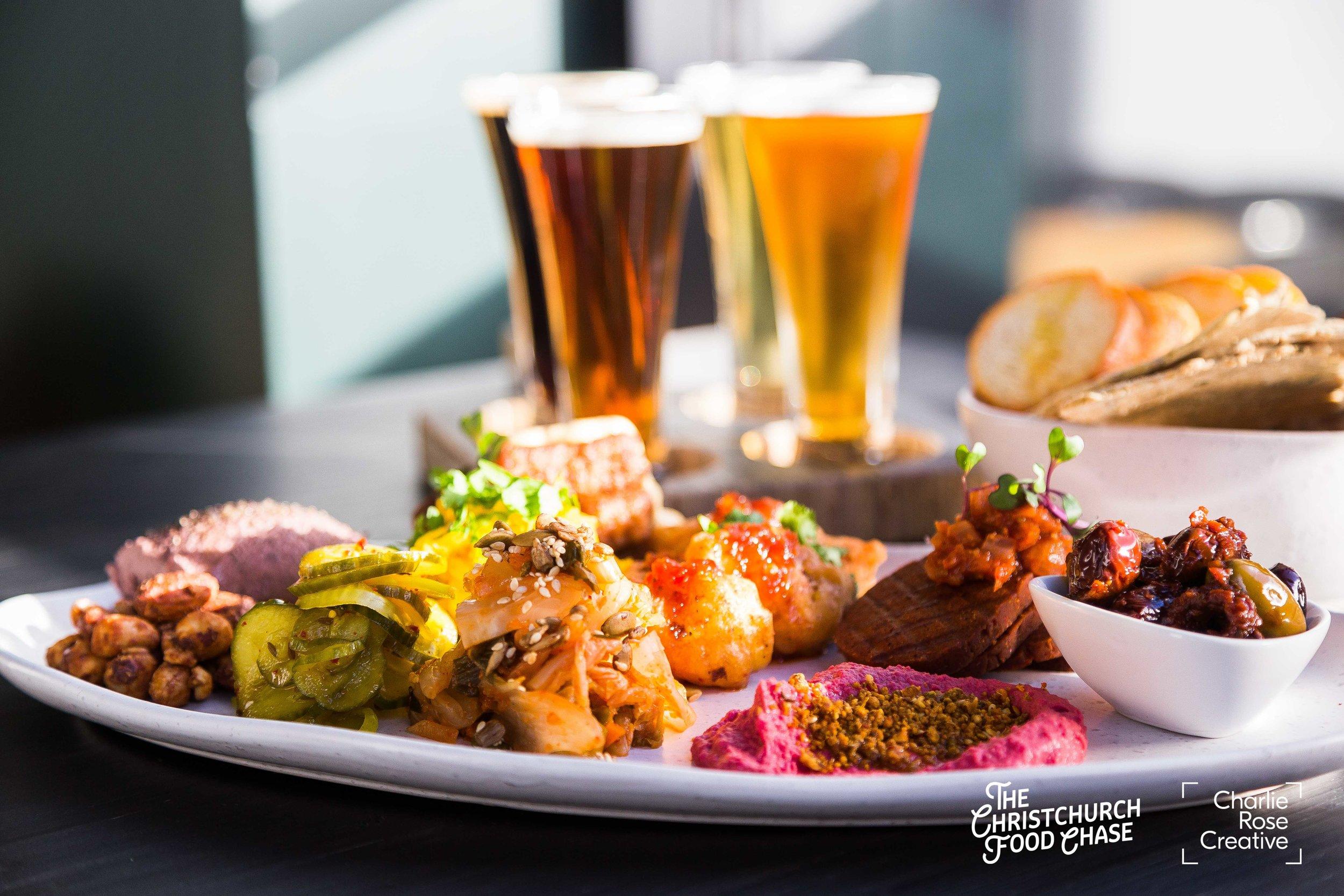 Highest-Rated Dish (Runner-up): The Fermentist - Tasting Platter -