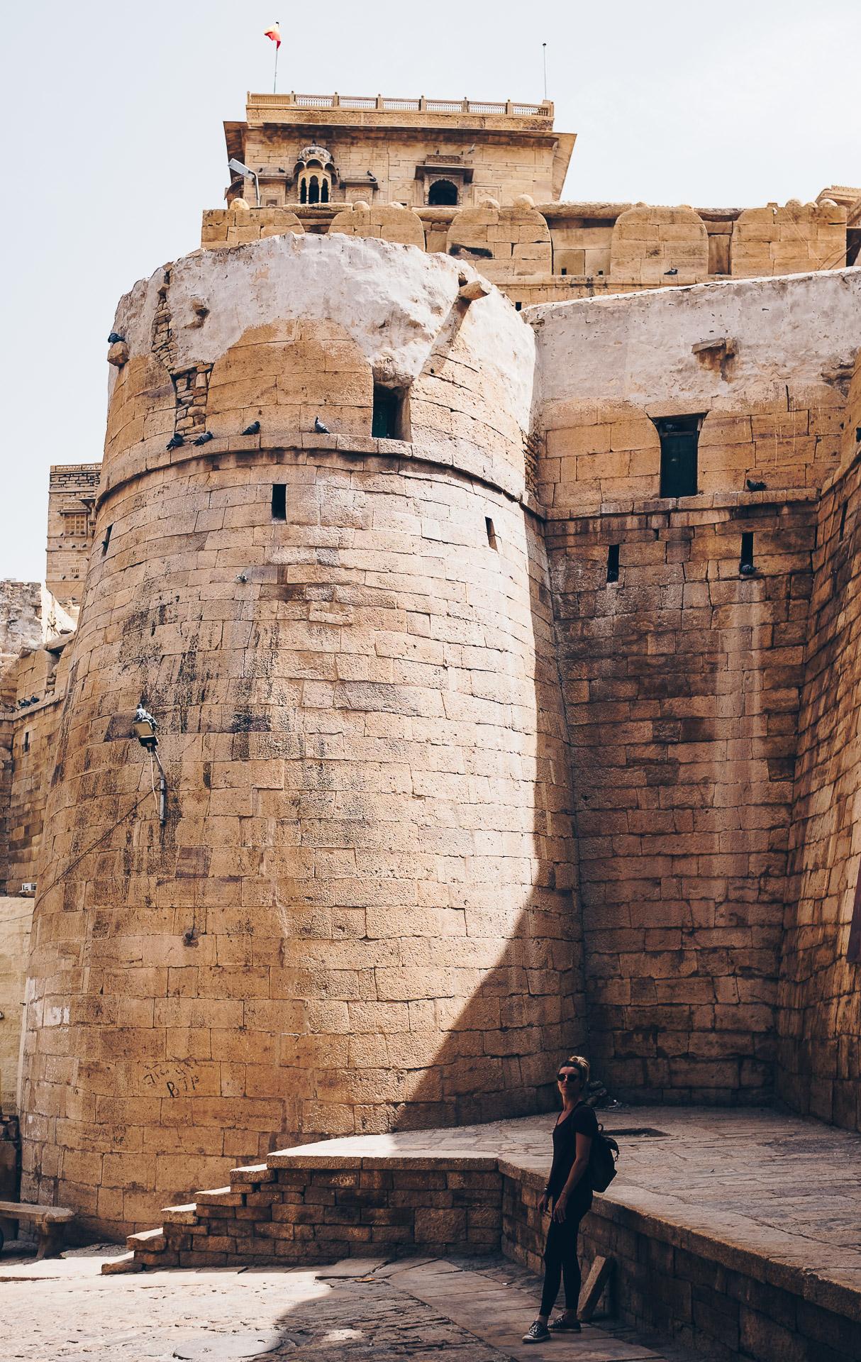 jaisalmer fort gate wall