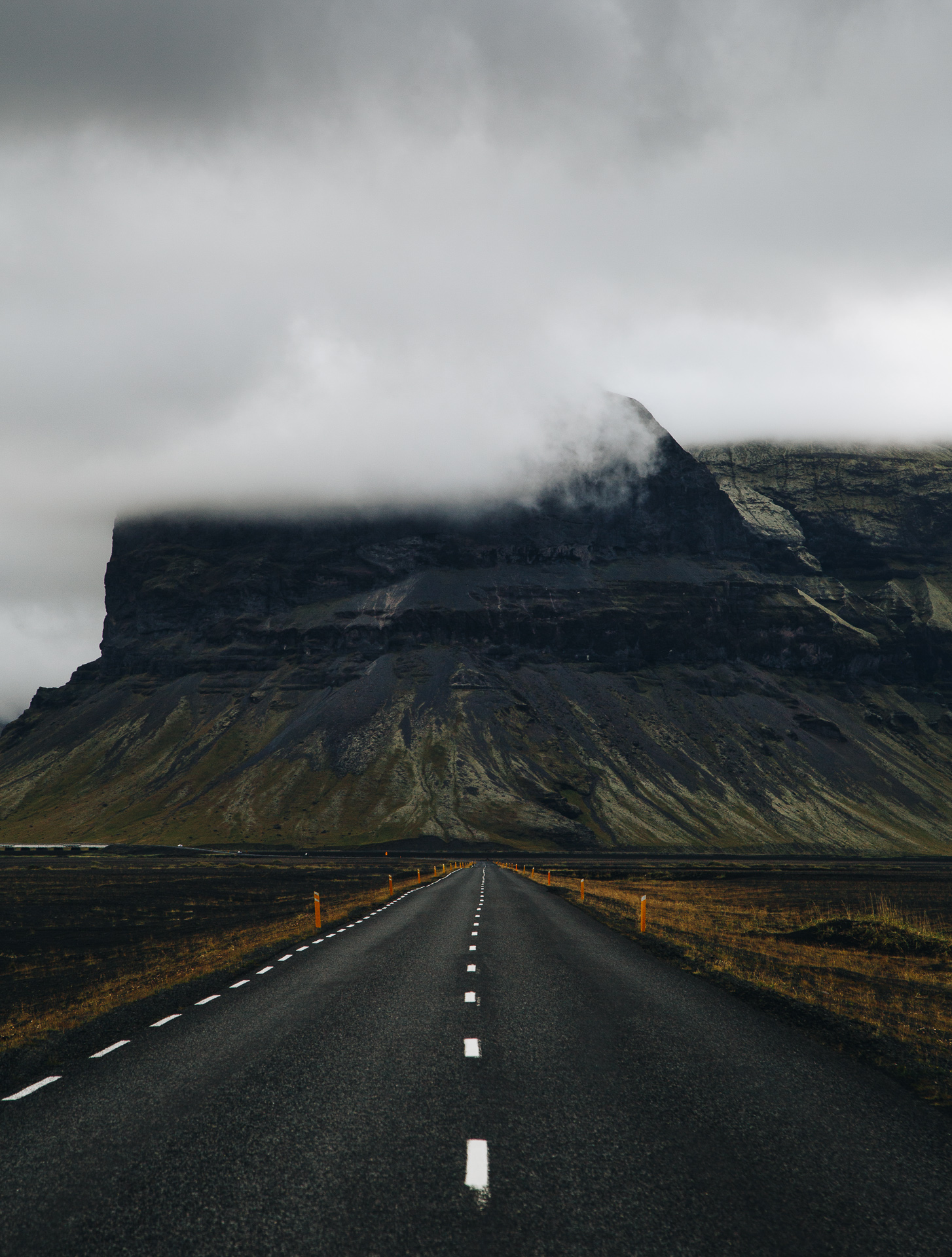 mount lomagnpur ring road iceland
