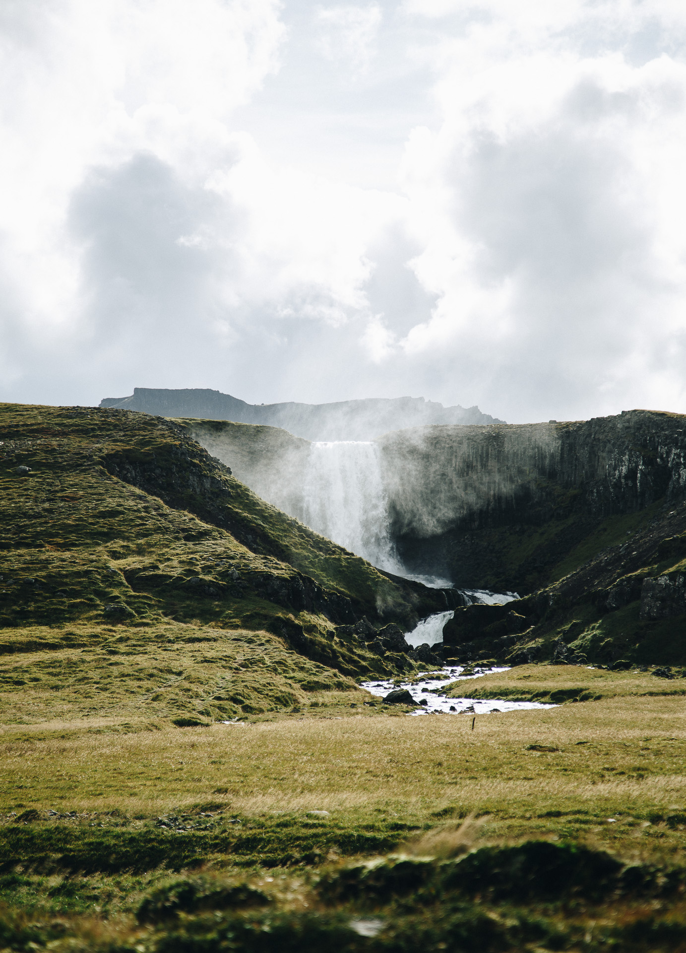 svodufoss waterfall snaefellsnes