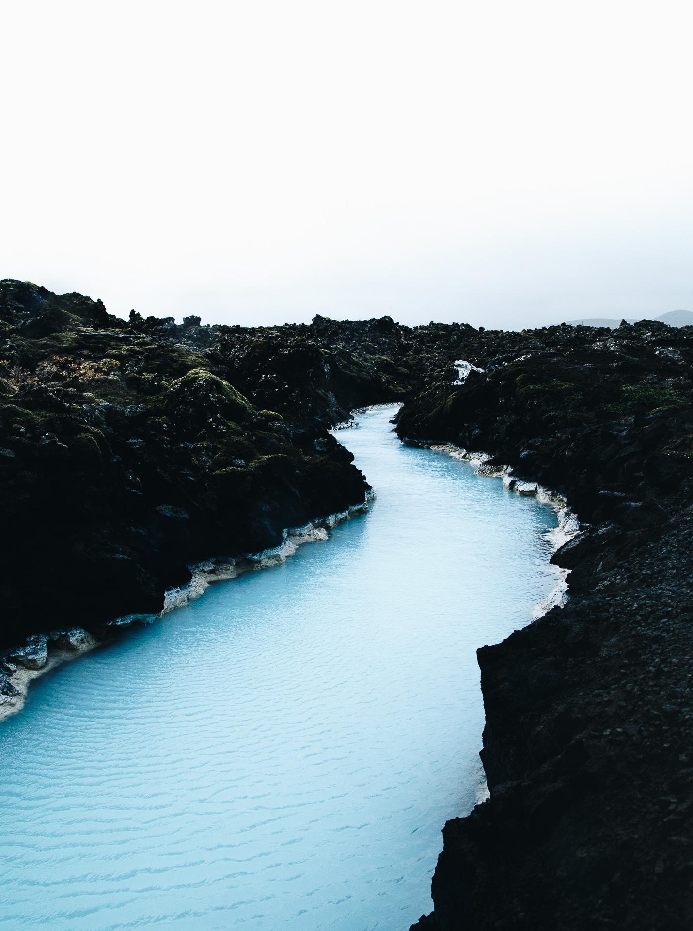blue lagoon rivers iceland