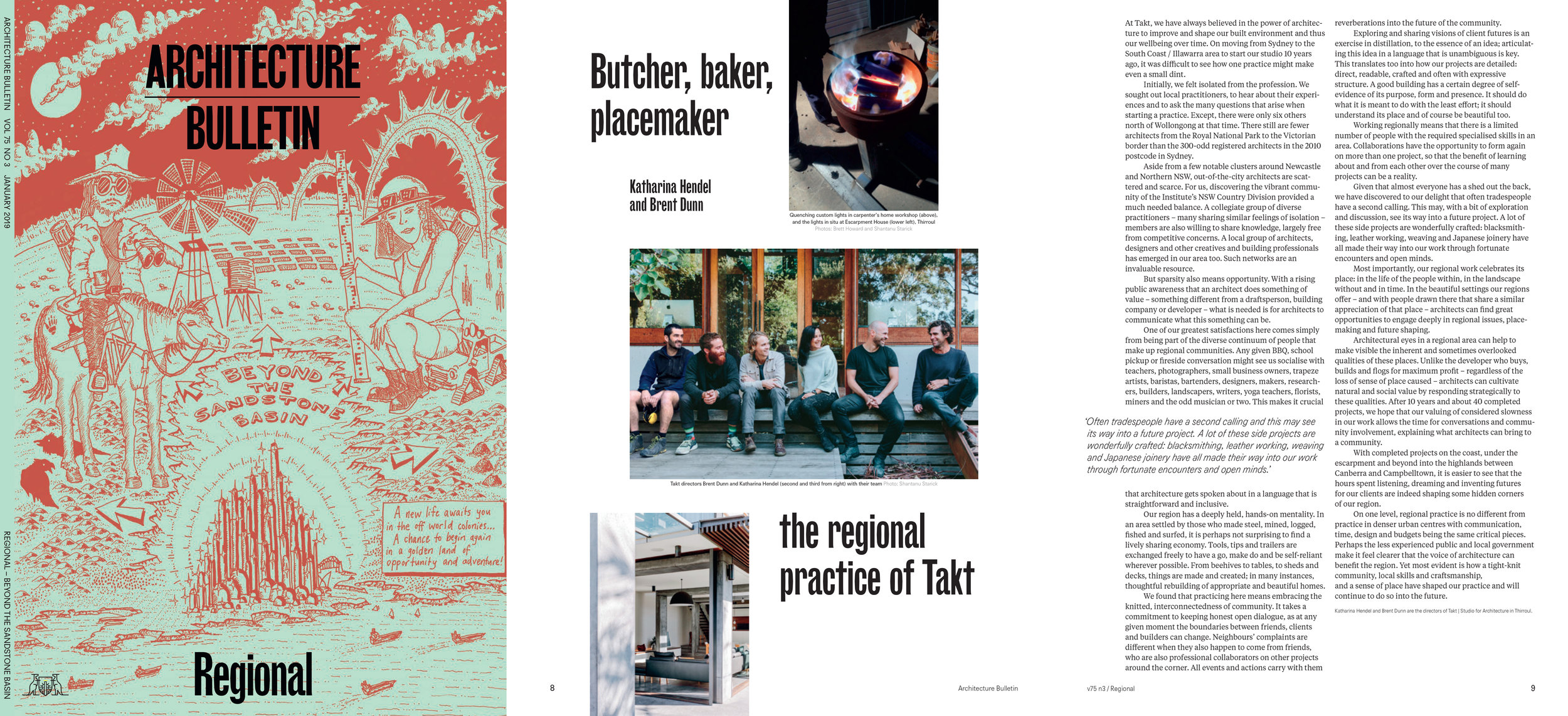 Architecture Bulletin - Regional Issue Autumn 2019