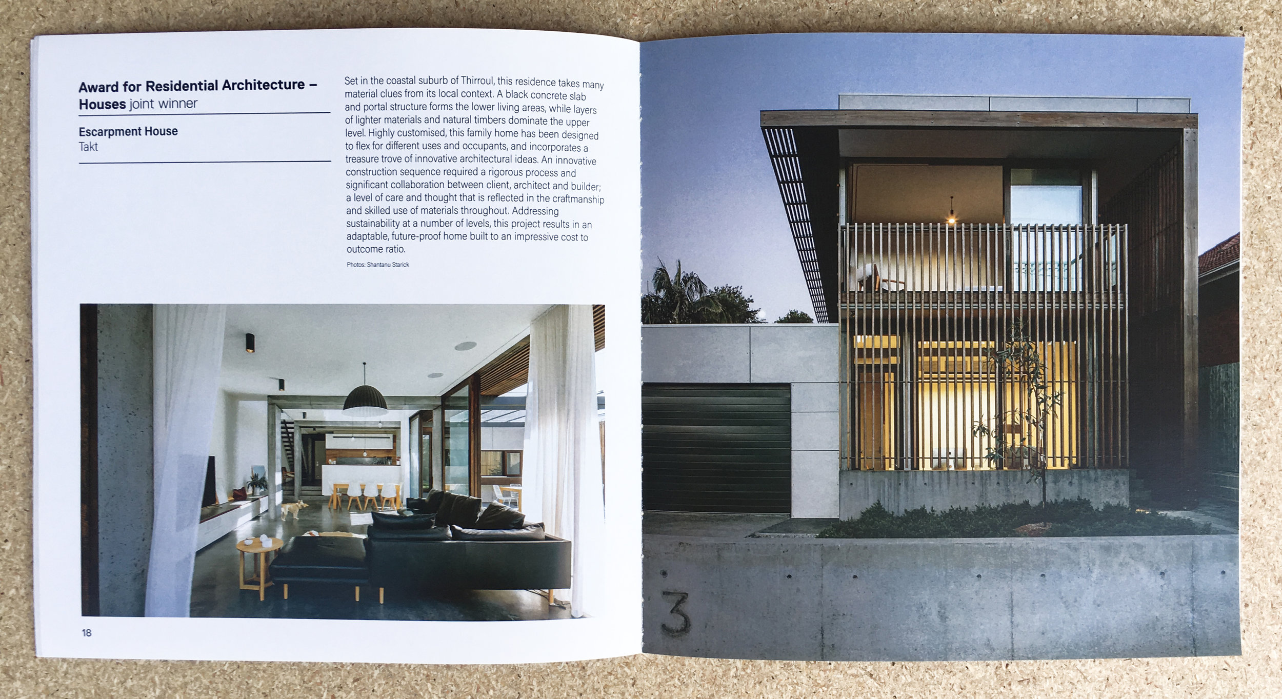 AIS NSW Country Division Award - Residential Architecture - Escarpment House