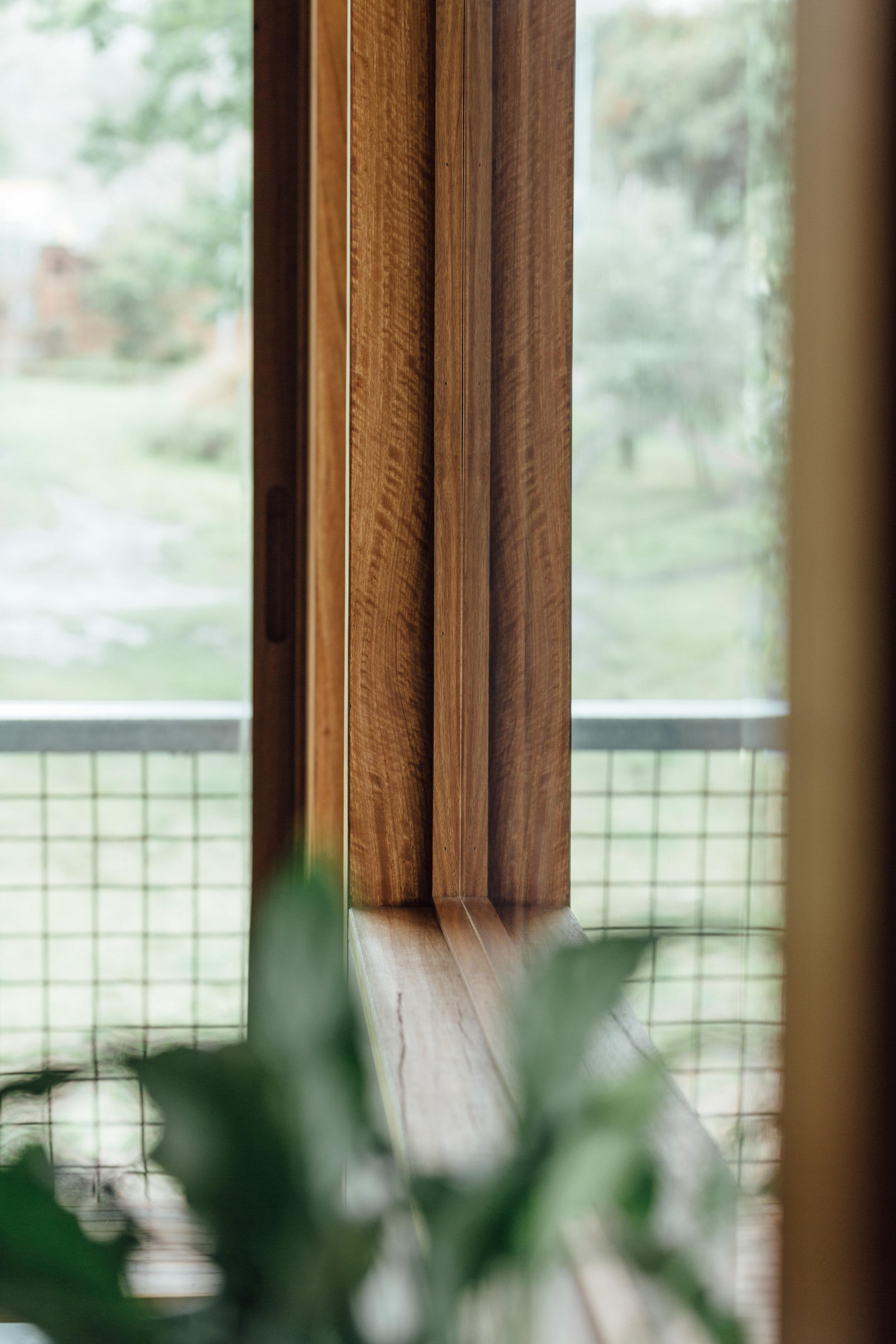 Takt exoskeleton house window detail