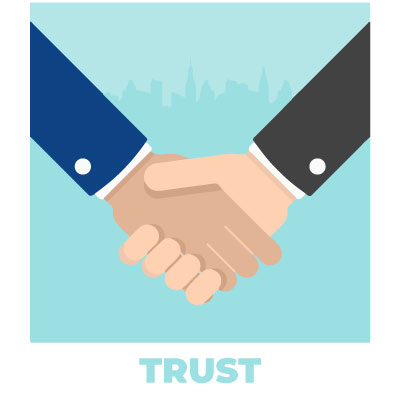 Uniforms create trust in your company