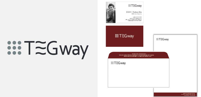 Tegway Co. Logo & Stationery
