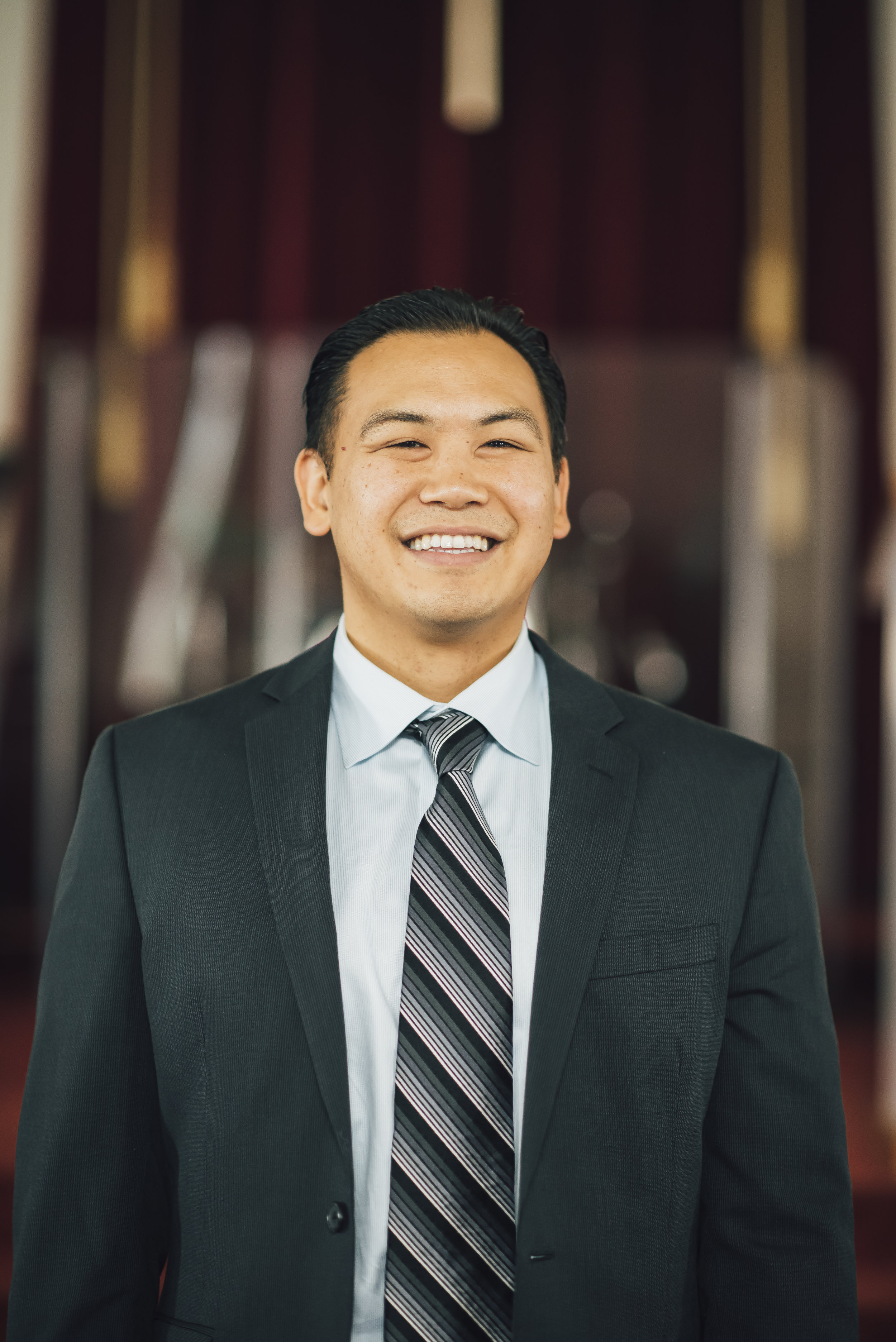 """Kevin Wong –Associate Pastor - Kevin came to faith in high school after talking with a youth leader and seeing himself in the story of the prodigal son in Luke 15. Starting in lay youth ministry in 1999, he served two """"tours"""" with a high school fellowship group. In the summer of 2005, Kevin discovered his deep burden for God's people and strong desire to teach others God's Word. Following God's calling, a year later, Kevin quit his job and pursued pastoral ministry. He was licensed as a Youth Pastor in 2007, and in 2014, Kevin graduated from Golden Gate Baptist Seminary. His passion is teaching the Bible, serving with people, and having spiritual conversations. He is happily married to Vivian, and they have two daughters and one son."""