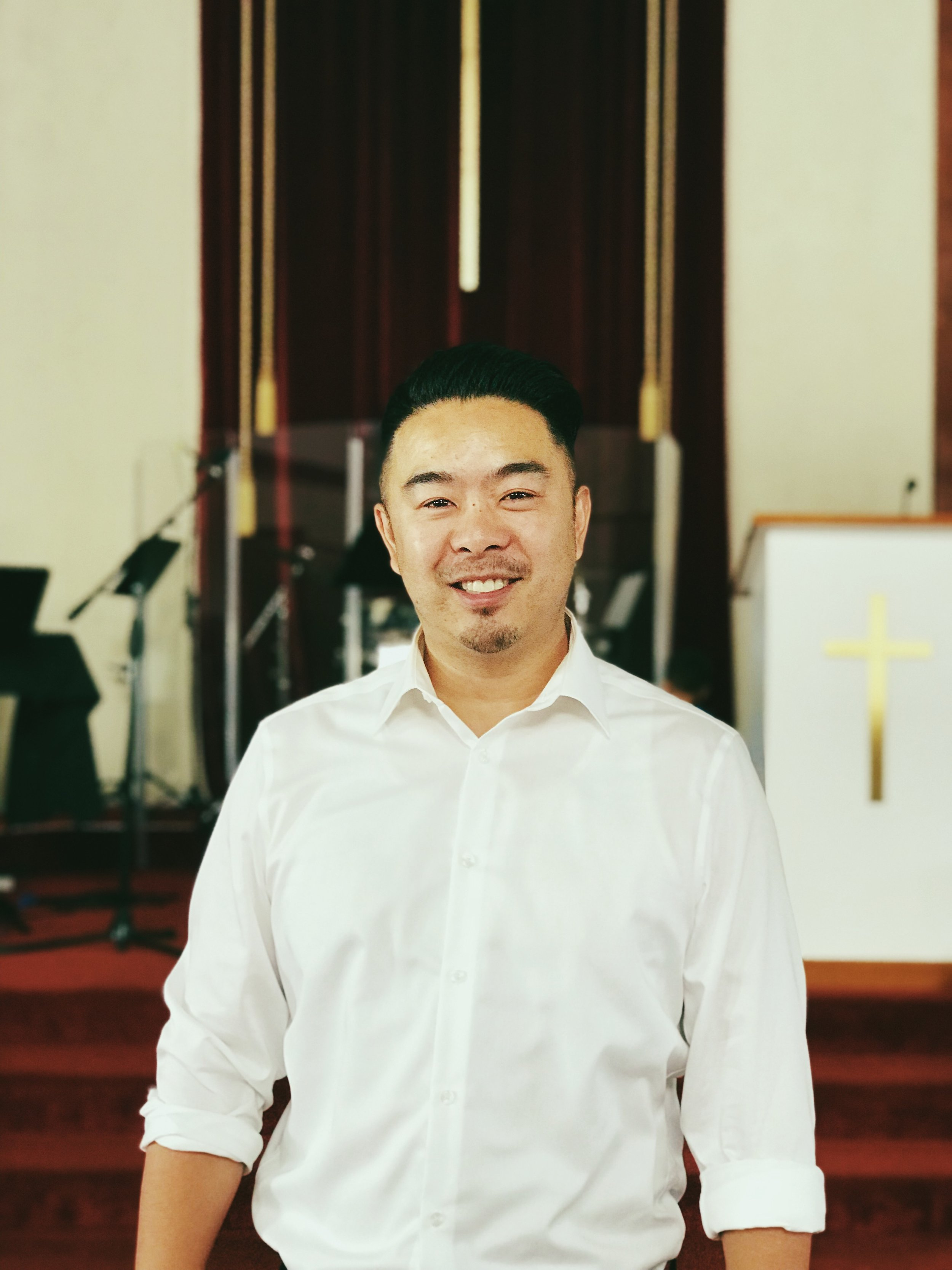 Clifton Jang –Campus Pastor - Clifton was born and raised in San Francisco and grew up a hardcore, Giants, 49ers, and Warriors fan. He gave his life to Christ in High School and has been on an incredible journey ever since. Clifton has served in the youth ministry, choir, and as a worship leader for many years. Missions has also played a big role in Clifton's life, as he has been serving with RE:ACTS Ministries, a non-profit missions organization, since 2009. After years of working in the insurance industry, Clifton felt a calling from God to love and serve the people in San Francisco. Clifton was licensed as a pastor in January 2018 by Cornerstone Trinity Baptist Church. Clifton serves as the campus pastor of CTX, a church plant launched by CTBC in April 2018. He is also finishing up his MDiv from Gateway Seminary.