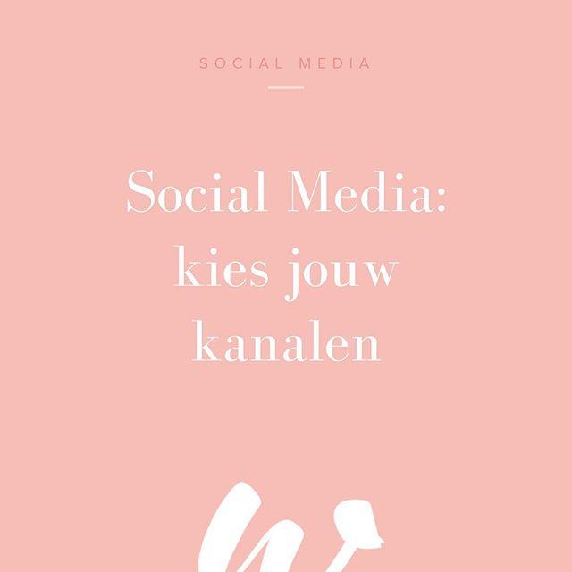 Natúúrlijk zet je social media in voor jouw bedrijf! 🙂 Maar kies je voor Facebook, Twitter, Instagram, Snapchat, LinkedIn of Pinterest? Wij helpen je op weg. Vergeet vooral de laatste tip niet, die is écht het belangrijkst 👀 Link in bio!