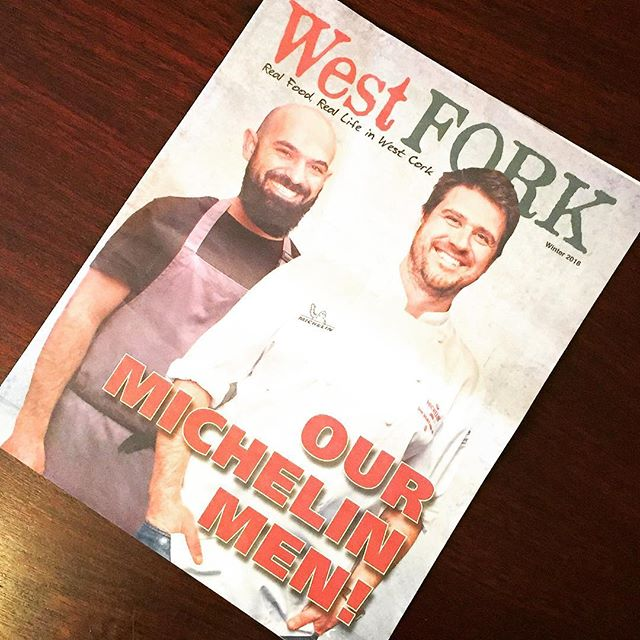 As representatives for Michelin in Ireland, one of our proud tasks is to bring news of their annual Michelin Restaurant Star recipients to the notice of Irish readers. As this wonderful West Fork supplement published by The Southern Star shows, Cork City, Baltimore and Ballydehob had a prominent presence amongst this year's 14 Irish recipients.  The appropriately named West Fork is just one of the supplements produced by The Southern Star to promote the West Cork region and its reputation as a place to visit for fine food and dining. #michelin #michelinstar #michelinguide #michelinstars #michelinrestaurant #corkcity #westcork #westcorkfood #irishrestaurant #ireland #irelandtravel #ballydehob #baltimorecork #skibbereen