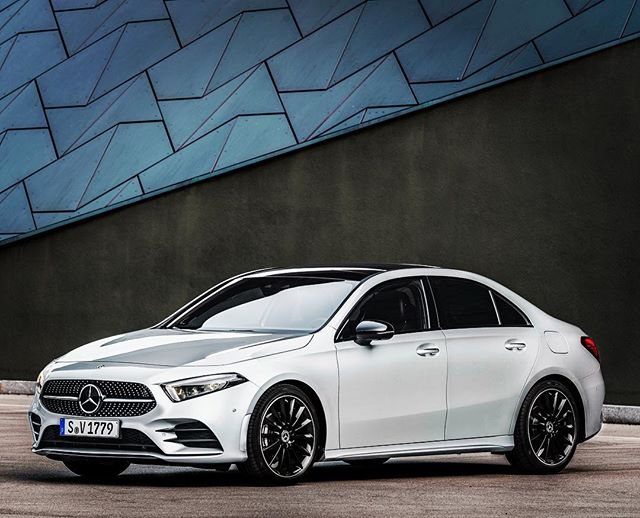 The new A-Class Saloon – one of the early 2019 arrivals from Mercedes-Benz in Ireland #mercedesbenz #mercedes #aclass #merc #saloon