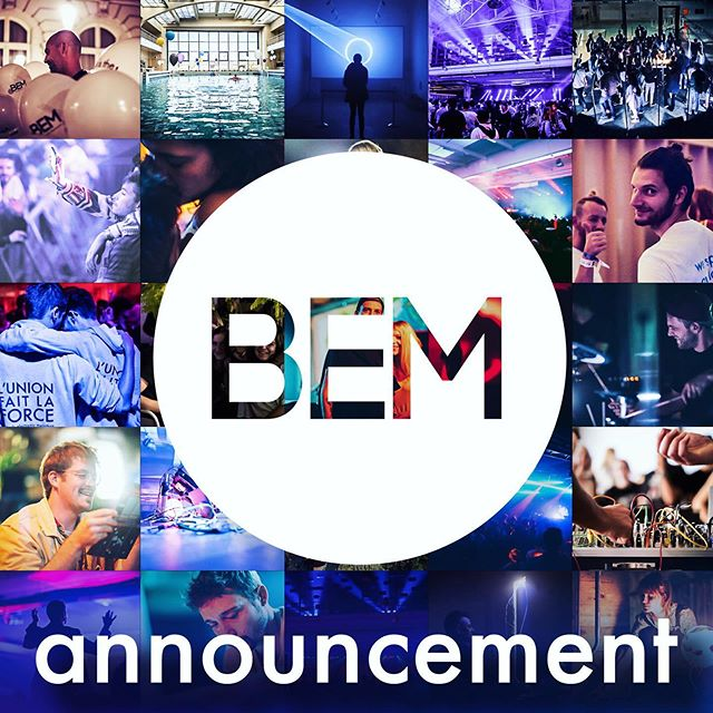 "Dear friends.  We have an announcement.  This year, there will be no edition of BEM.  It's been 3 years since we decided to launch what back then seemed like a totally crazy idea; electronic music everywhere, at the same time, across the entire city.  We were as surprised as anyone to see the beautiful, epic result.  3 editions, each one larger and more ambitious than the last, hundreds and hundreds of venues, local collectives, artists, and events supported by hundreds of volunteers and many thousands of you.  A humble idea which became the largest event of its kind in Belgium (100% local, urban, electronic). We're really grateful, proud, and happy when we look back at it all, truly.  It is however also the right time to pause, for a moment, and consider the journey so far, what it brought, and frankly, what it cost.  What many of you may not know is that BEM has always been a volunteer-led organisation.  That we did what we did purely out of passion, and not out of a more classical 'commercial' logic (which isn't a dirty word, just different). We worked for a whole year on each edition, week-in and week-out, meeting in the evenings and weekends for people who had full-time jobs.  The result is an incredible expression of what's possible when we pull together, out of a runaway love for this city, and for electronic music.  You might just say that we're crazy, and we wouldn't disagree.  In the spirit of openness we can't tell you what the future will hold.  We have so very many ideas and dreams, and as is always the case, there's not enough time or resources to realise them all.  Music is a bit like food; there are many ways to ""cook"" something up, especially when we have such wonderful ingredients.  For now we're going to let the garden recover and grow, so that when we come back to the kitchen, it will be with renewed energy, and some new and improved recipes - we ain't finished cooking yet.    Message continues in the comment below 😘"