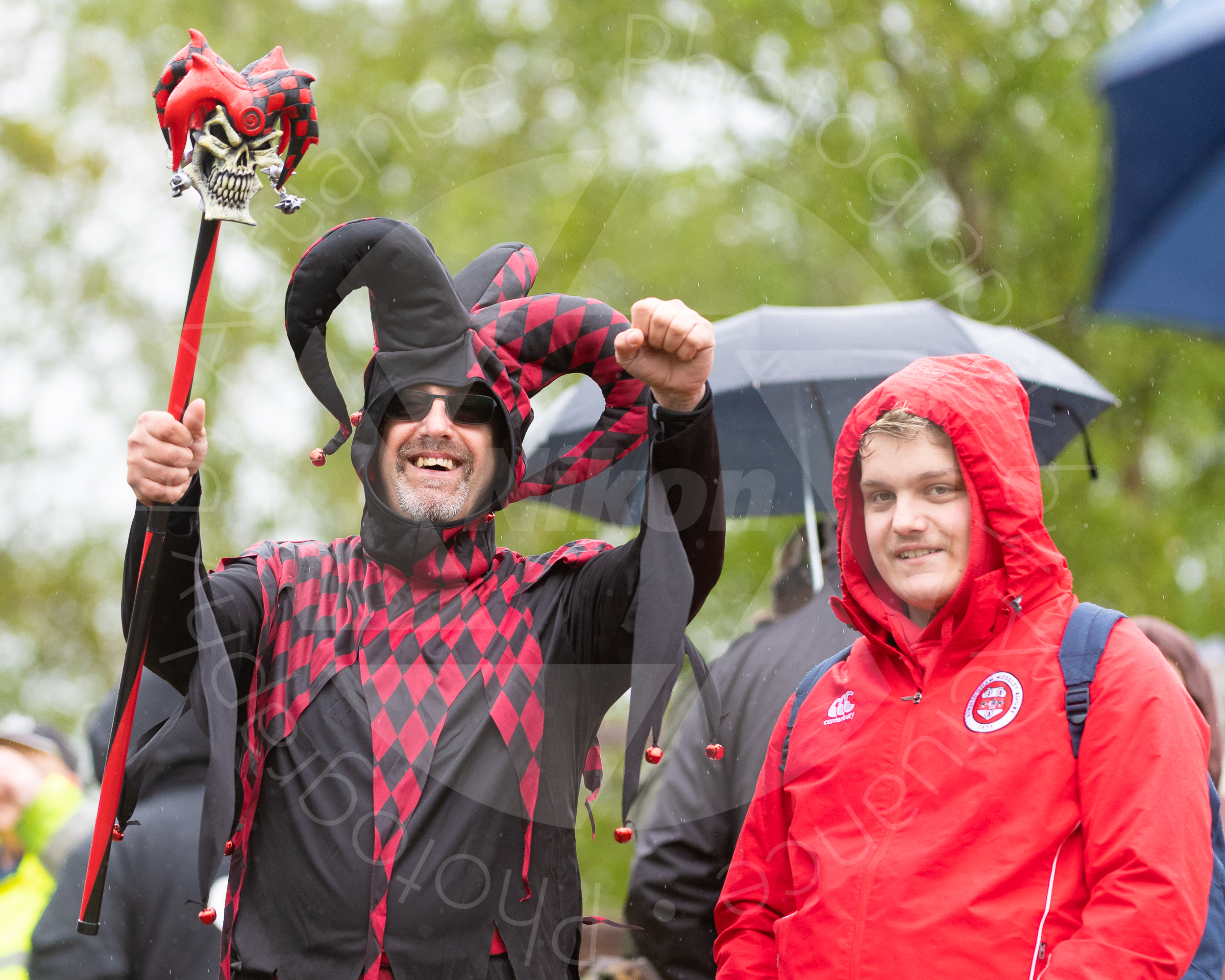 Mosley supporters determined to have fun (Photo: Iain Frankish, Actuance Photography)