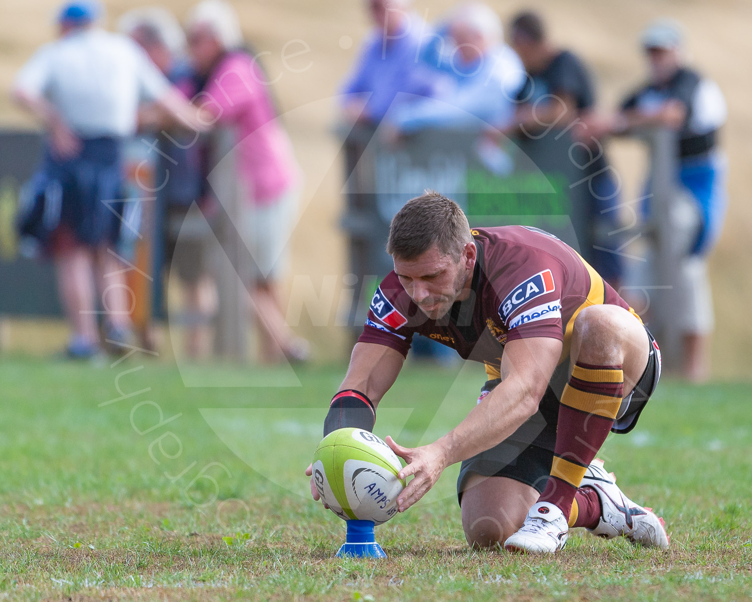 James Pritchard preparing to add to the tally (Photo: Iain Frankish, Actuance Photography)