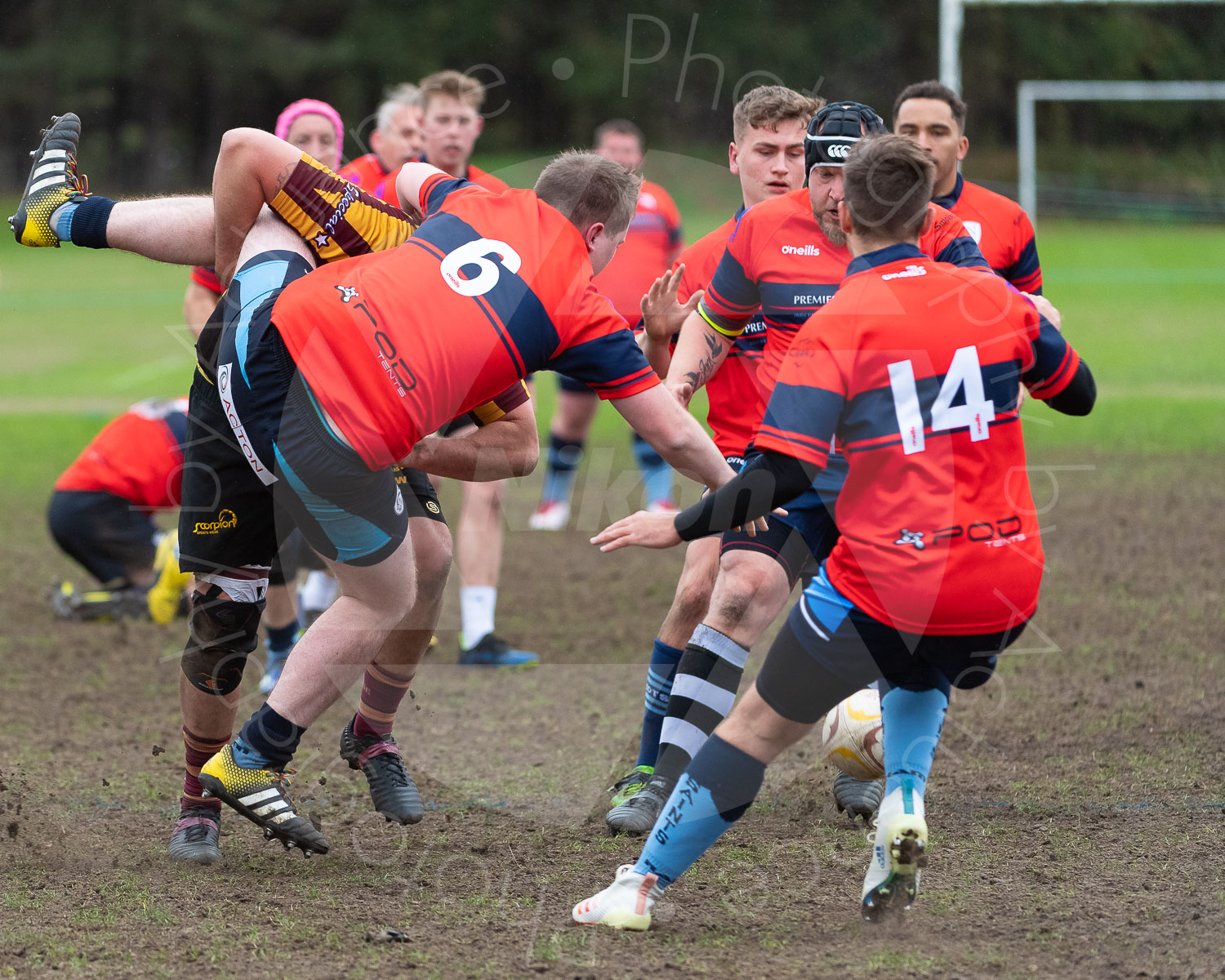 20181027 Amp Extras vs St Neots 2nd XV #2152