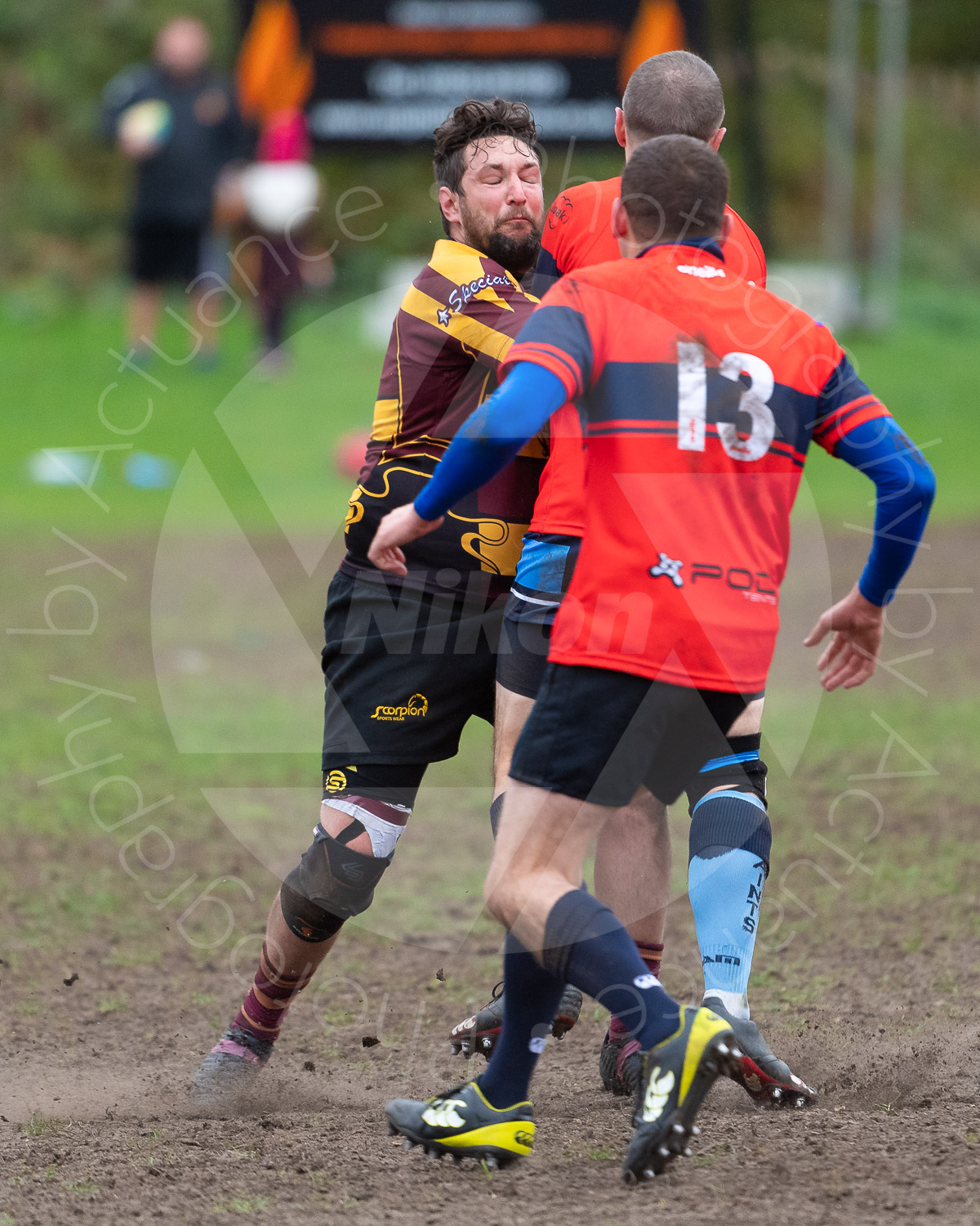 20181027 Amp Extras vs St Neots 2nd XV #2166