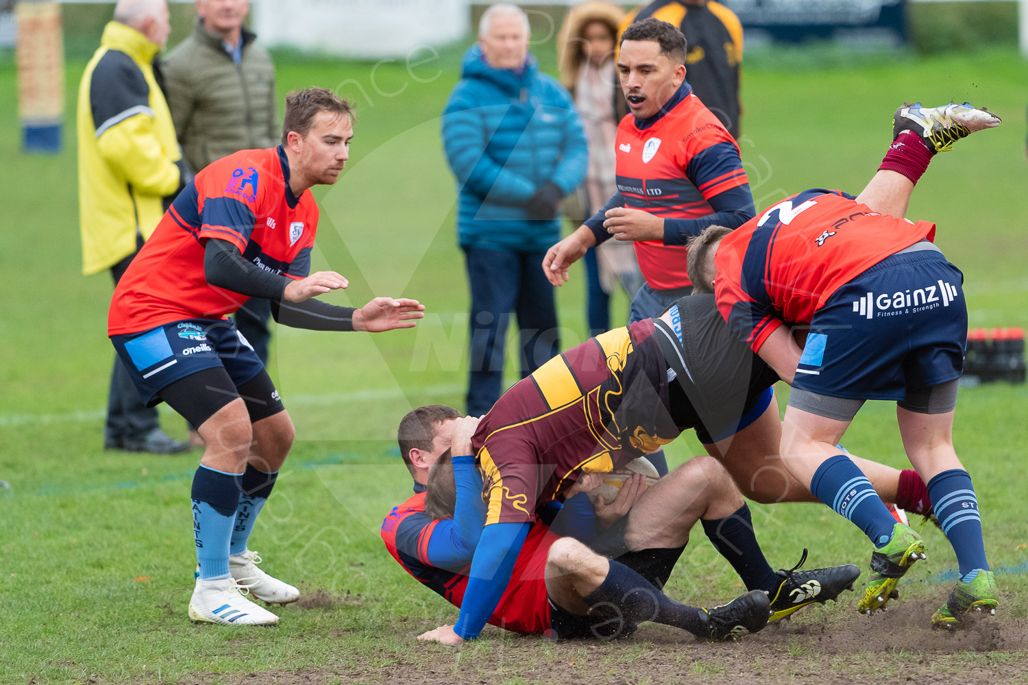 20181027 Amp Extras vs St Neots 2nd XV #2179