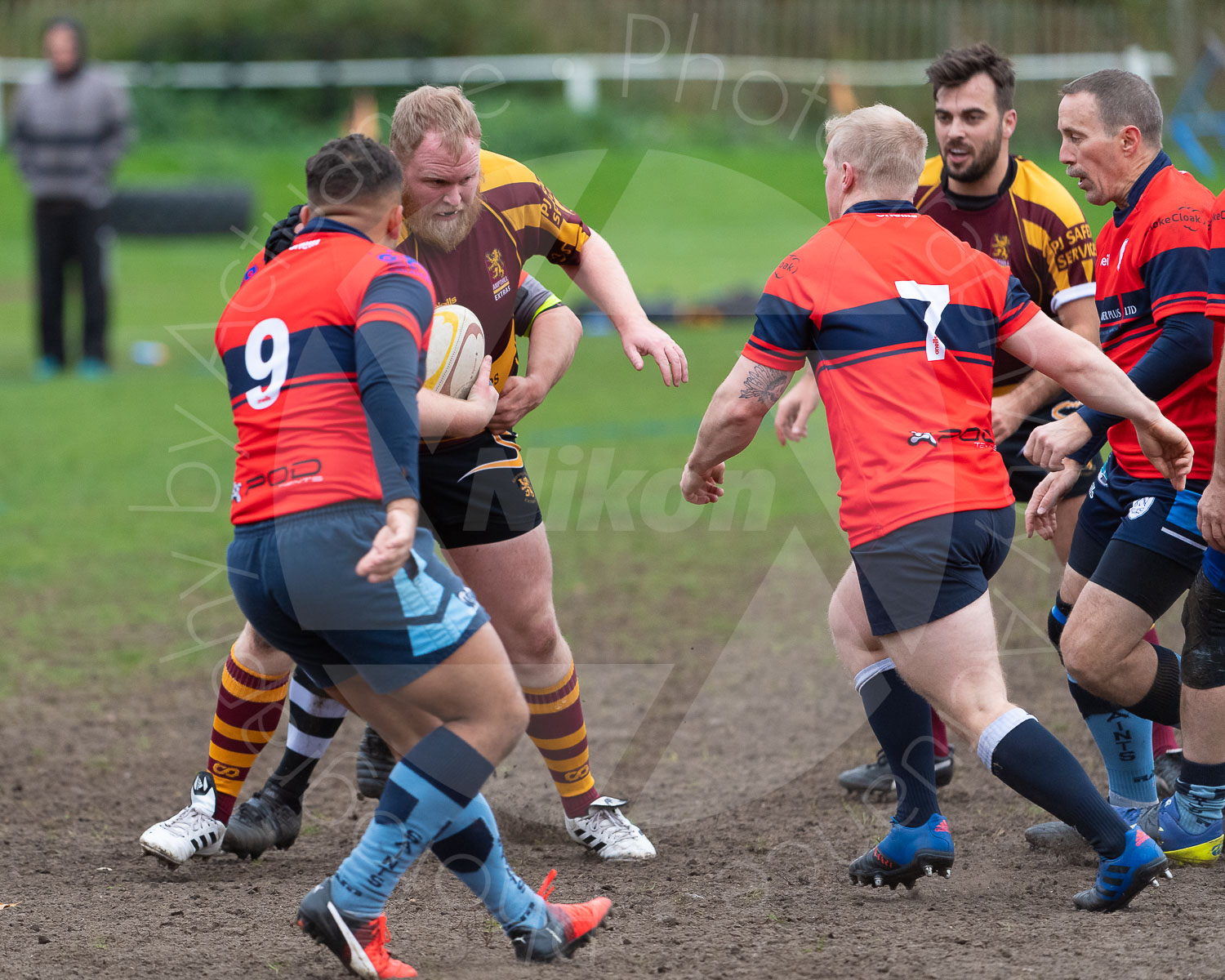 20181027 Amp Extras vs St Neots 2nd XV #2182