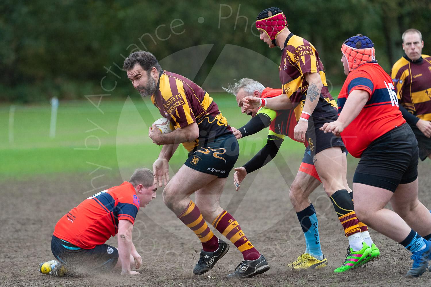 20181027 Amp Extras vs St Neots 2nd XV #2193