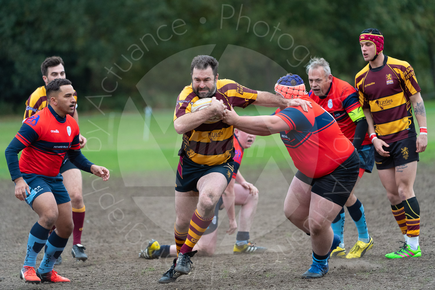 20181027 Amp Extras vs St Neots 2nd XV #2195