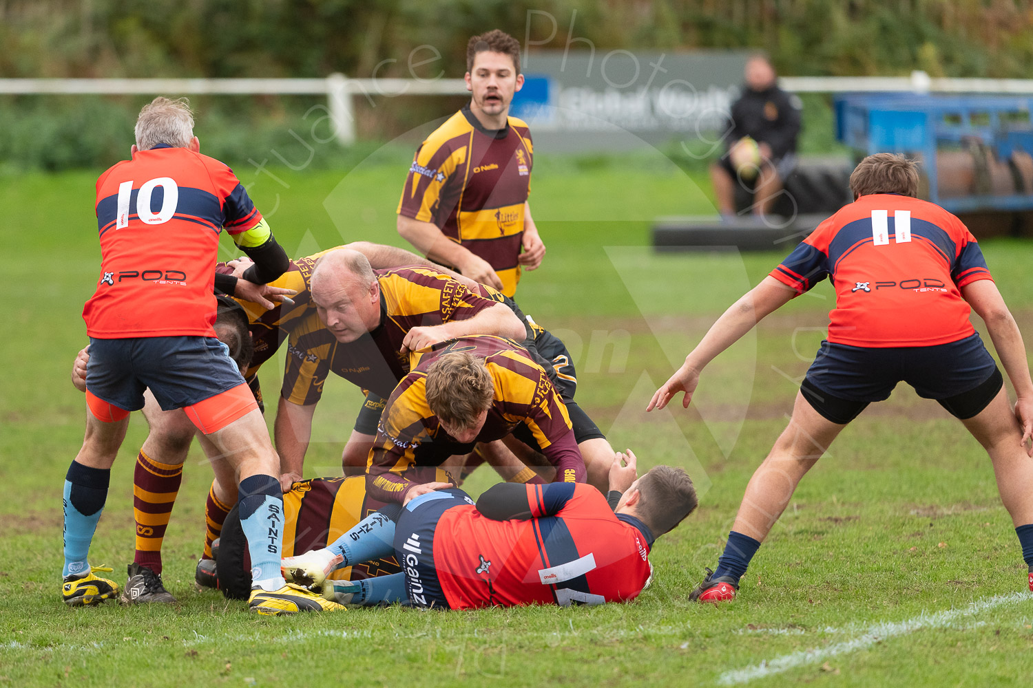 20181027 Amp Extras vs St Neots 2nd XV #2229