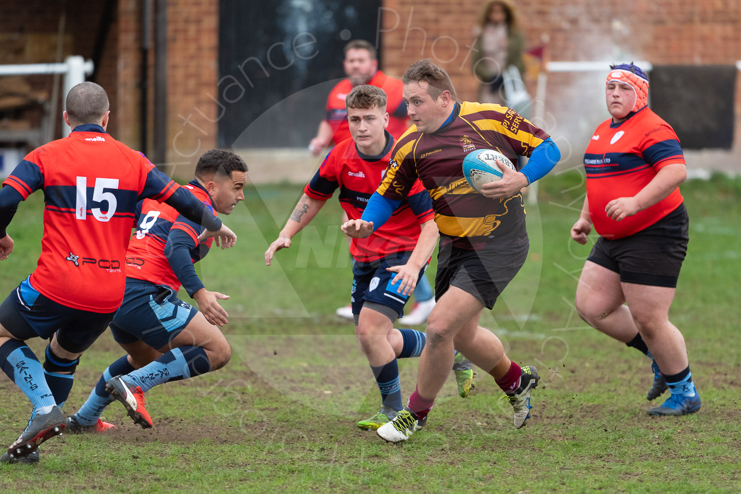 20181027 Amp Extras vs St Neots 2nd XV #2235