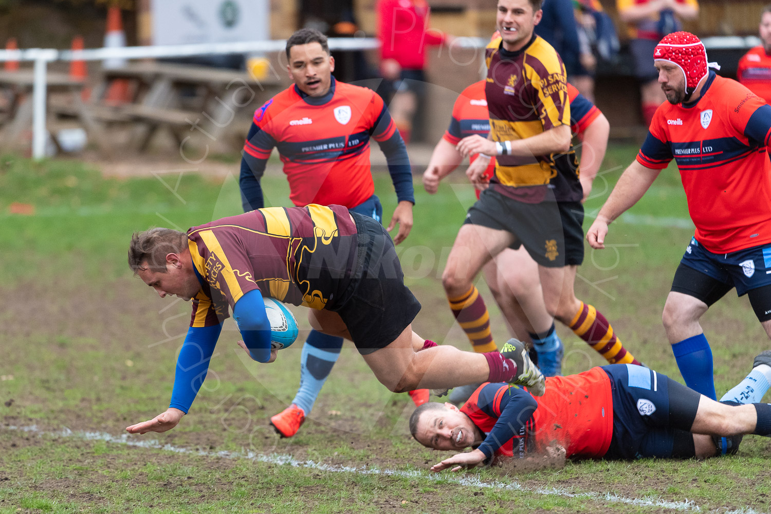 20181027 Amp Extras vs St Neots 2nd XV #2238