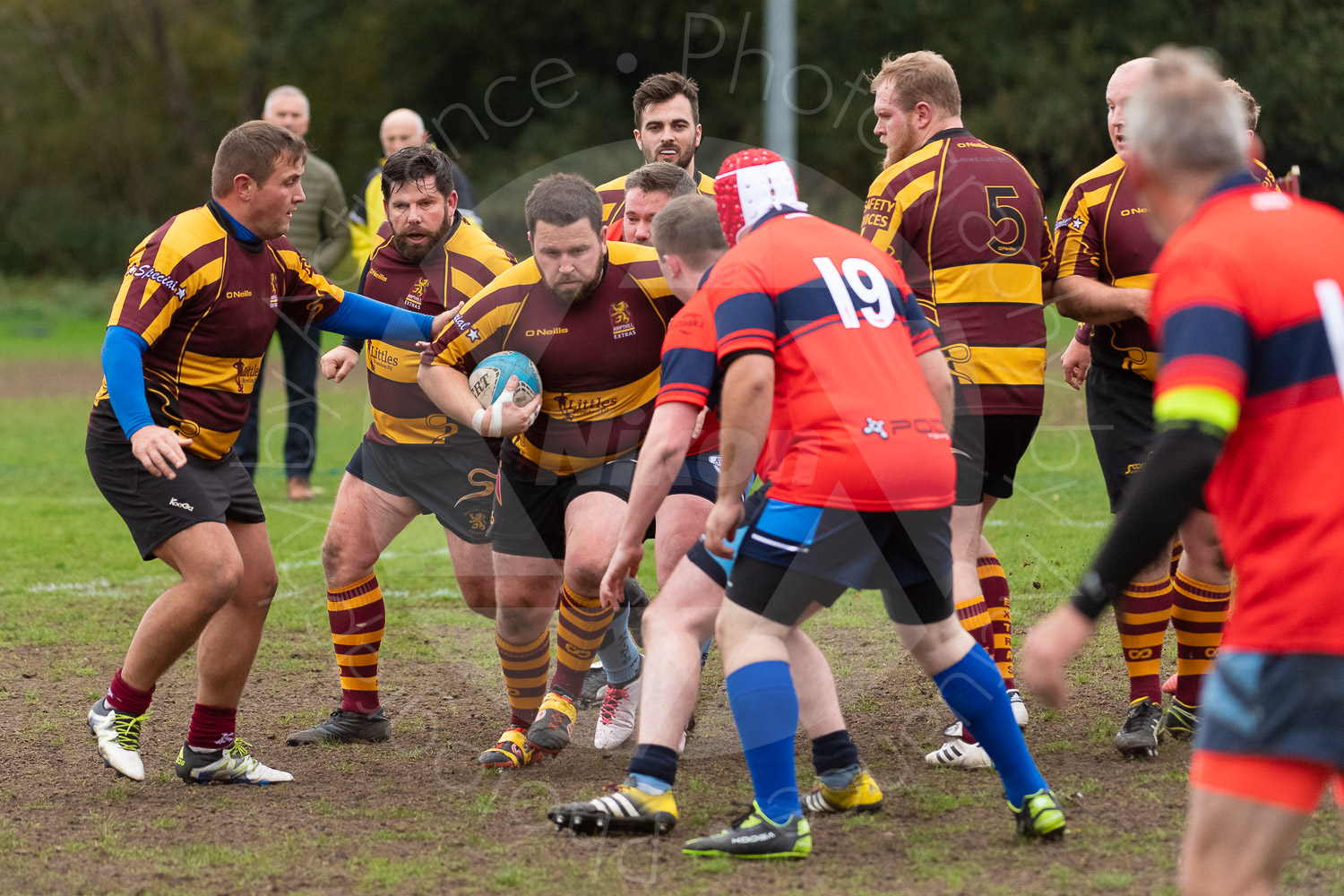 20181027 Amp Extras vs St Neots 2nd XV #2252