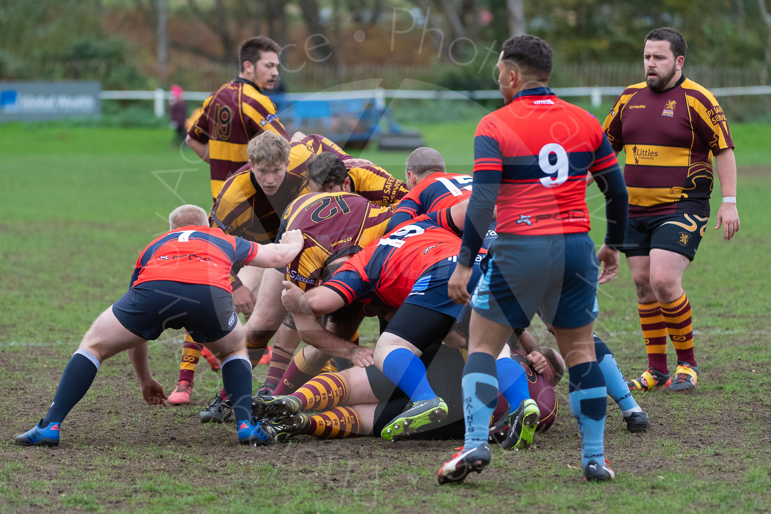20181027 Amp Extras vs St Neots 2nd XV #2262