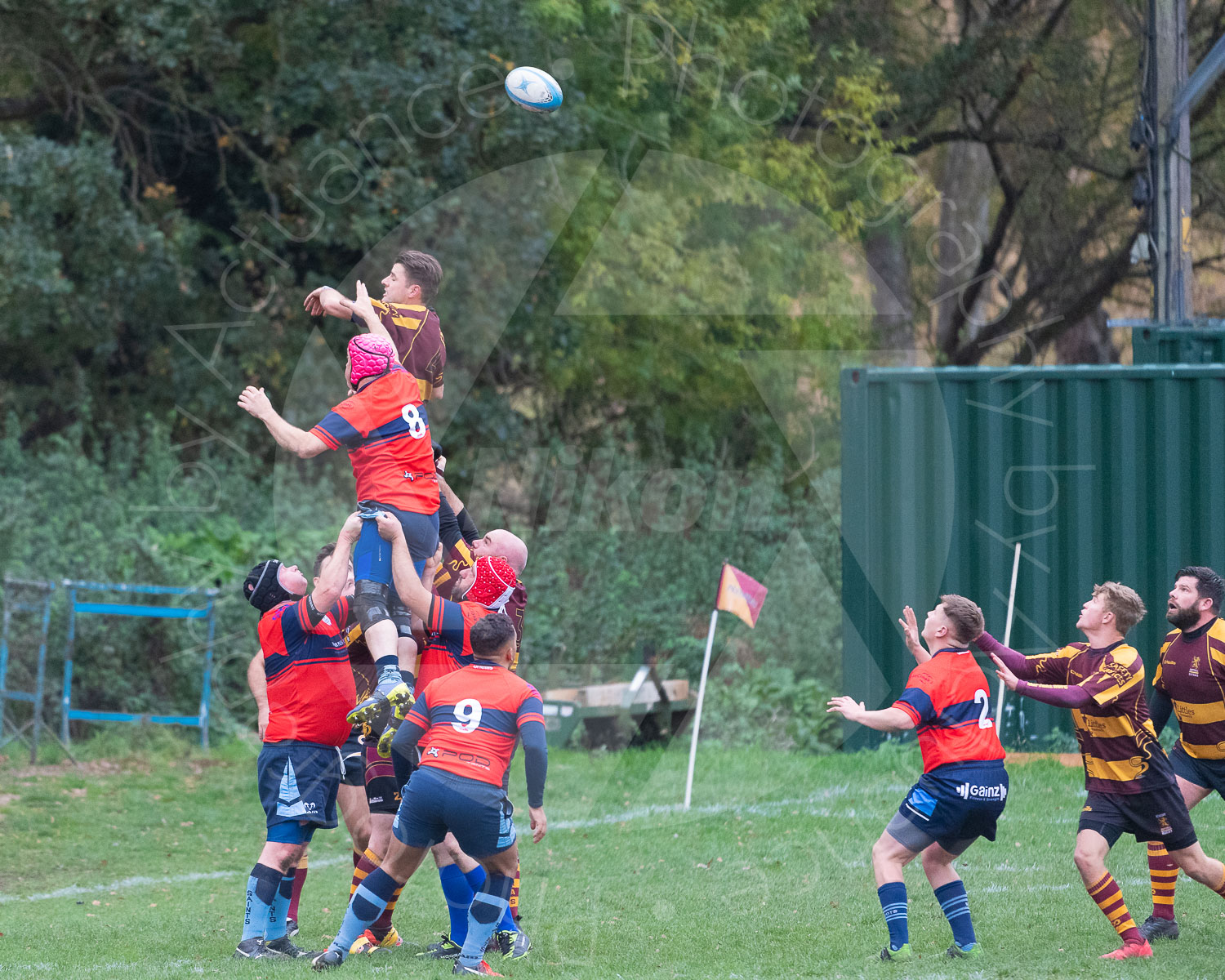 20181027 Amp Extras vs St Neots 2nd XV #2273