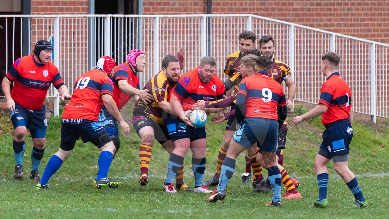 20181027 Amp Extras vs St Neots 2nd XV #2296