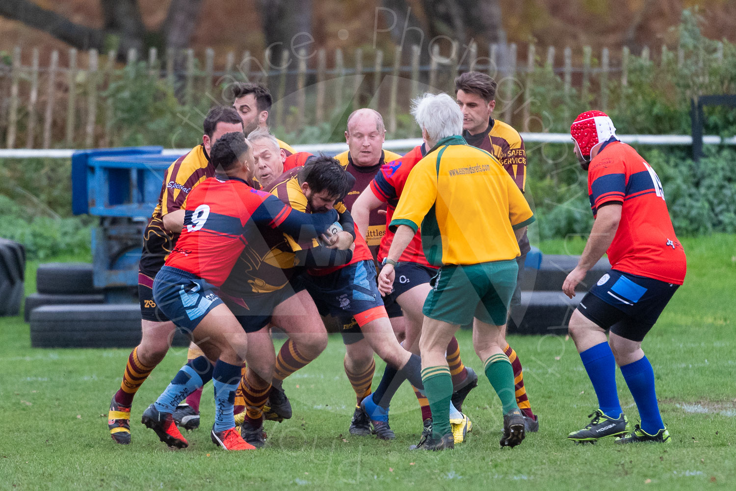 20181027 Amp Extras vs St Neots 2nd XV #2338