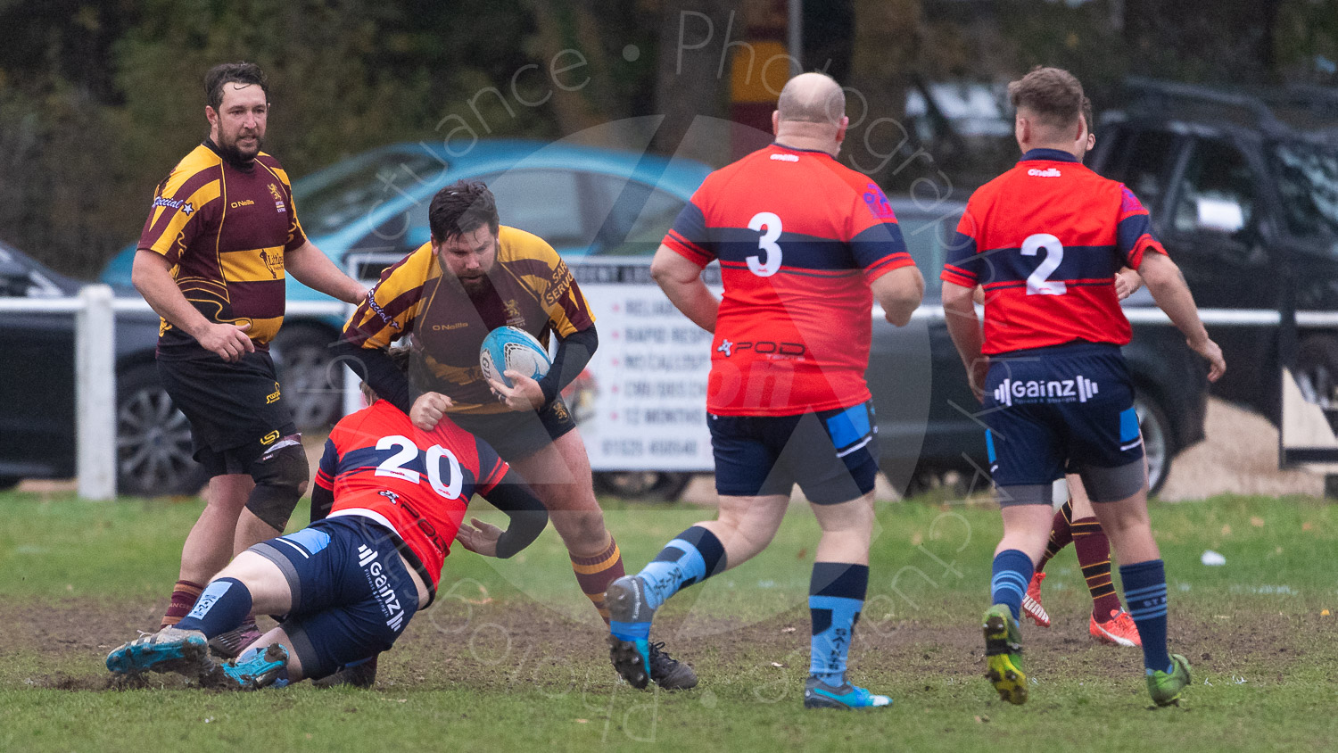 20181027 Amp Extras vs St Neots 2nd XV #2354