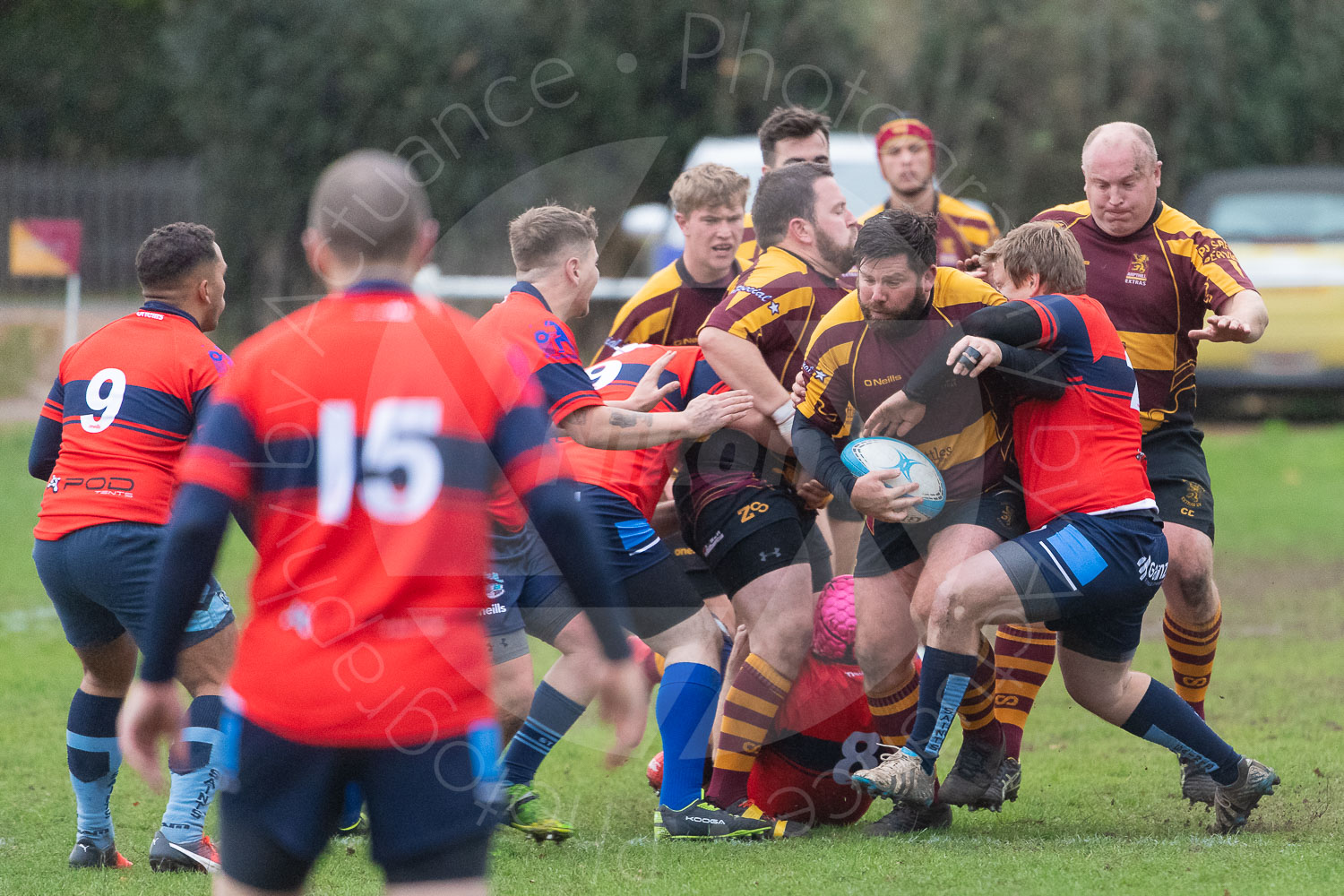 20181027 Amp Extras vs St Neots 2nd XV #2448