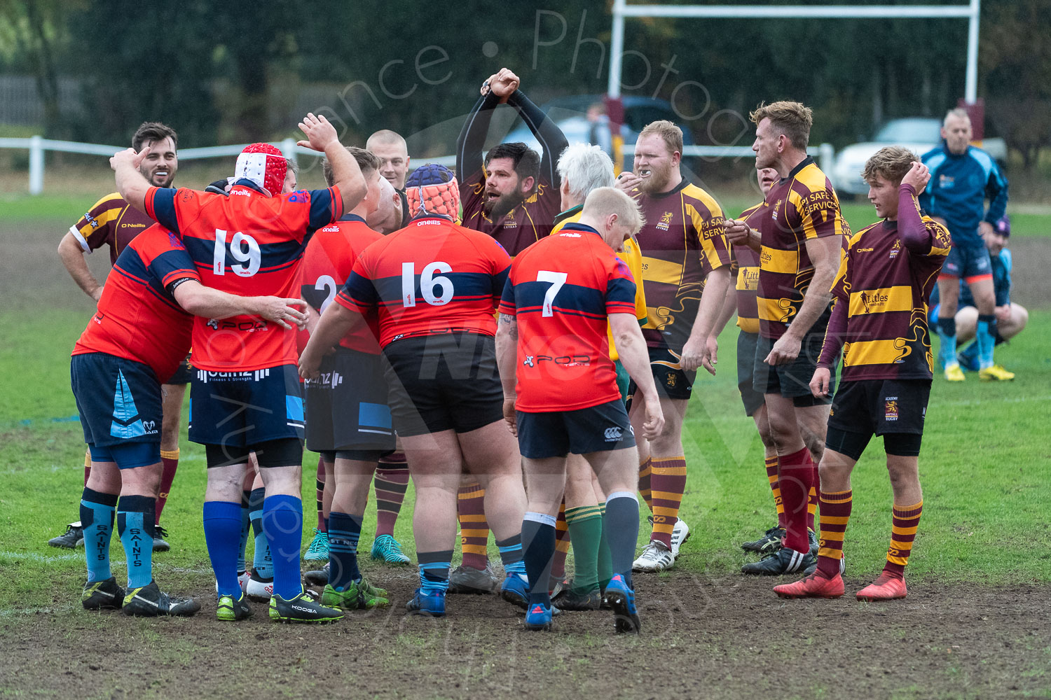20181027 Amp Extras vs St Neots 2nd XV #2461