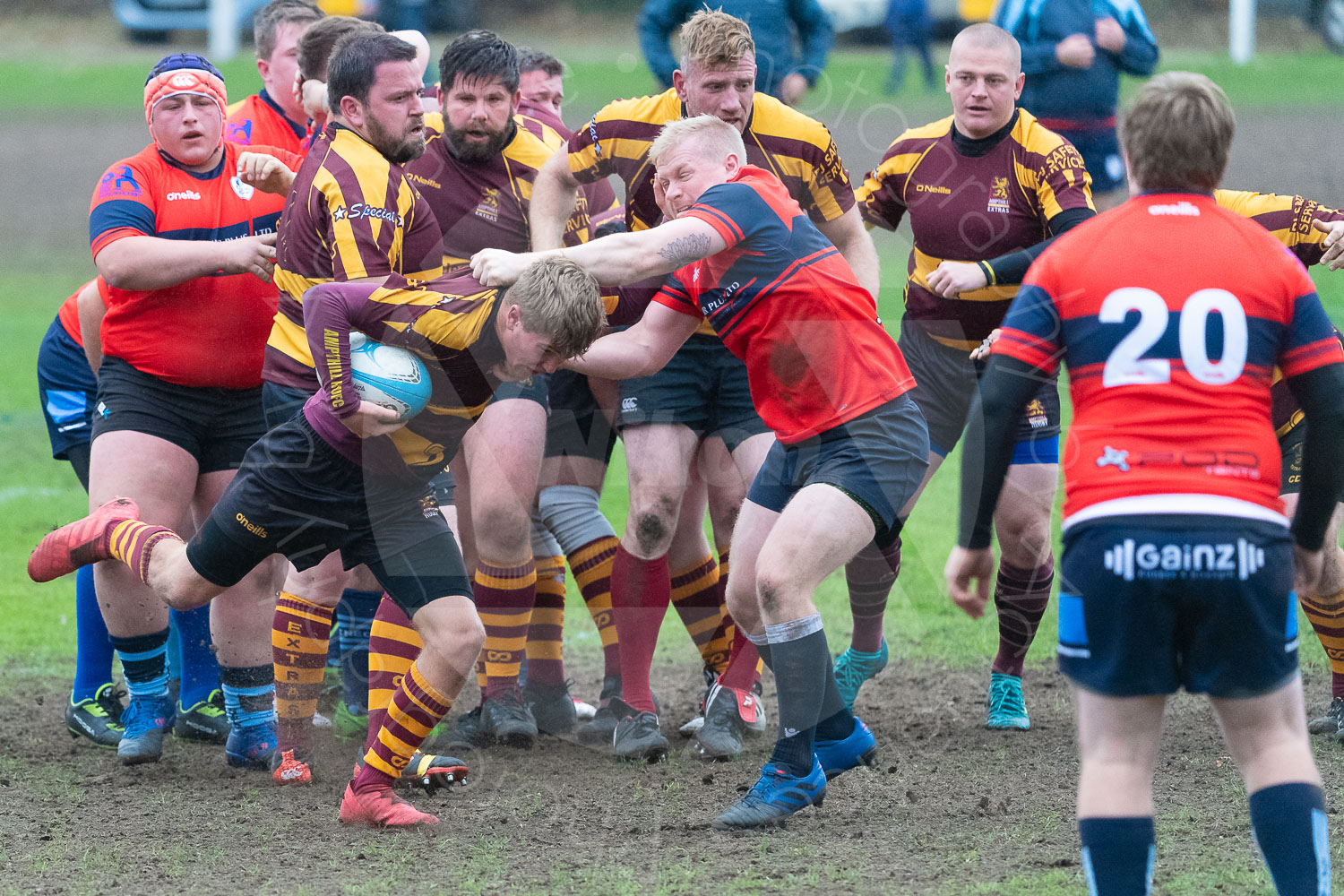20181027 Amp Extras vs St Neots 2nd XV #2465