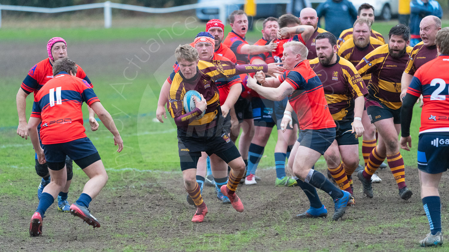 20181027 Amp Extras vs St Neots 2nd XV #2469