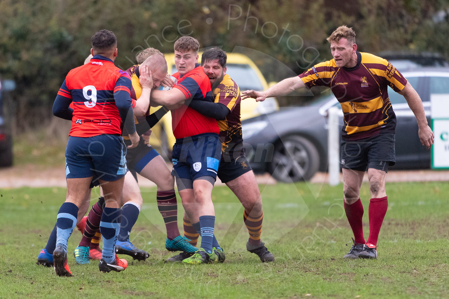 20181027 Amp Extras vs St Neots 2nd XV #2493