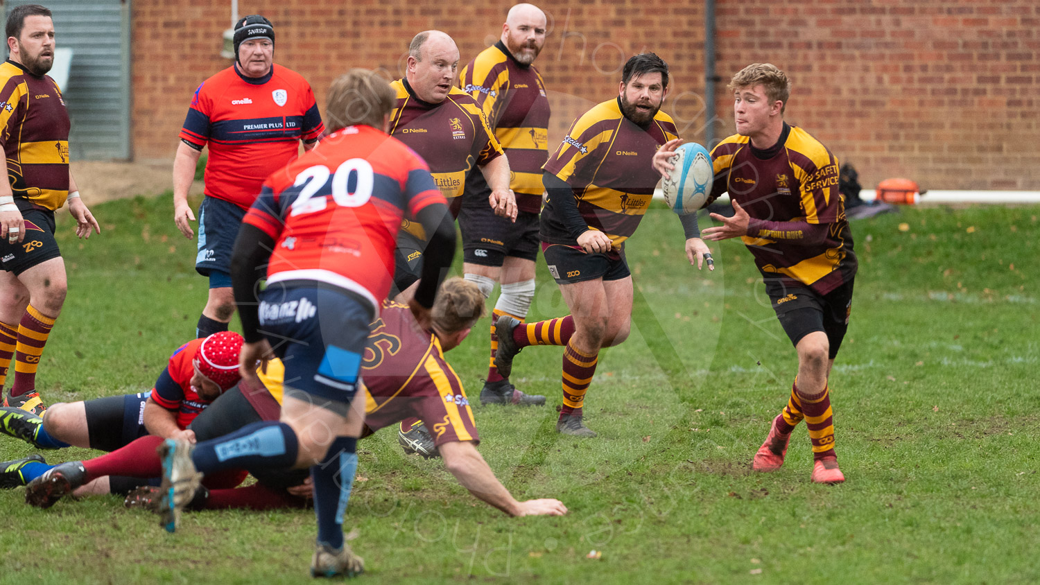20181027 Amp Extras vs St Neots 2nd XV #2508