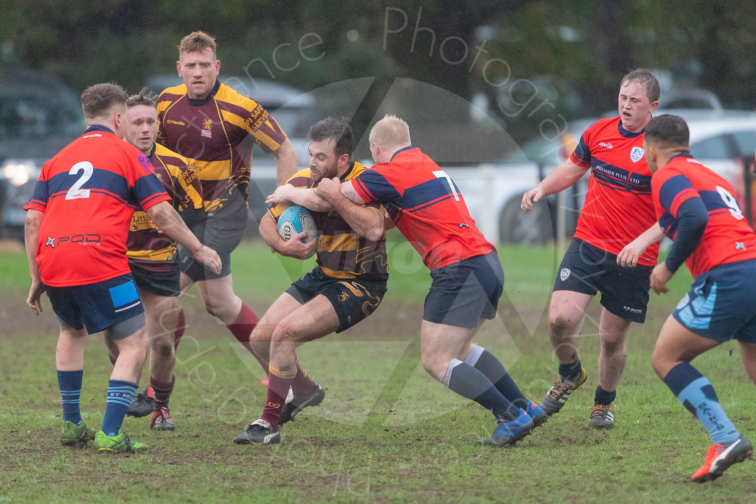 20181027 Amp Extras vs St Neots 2nd XV #2713