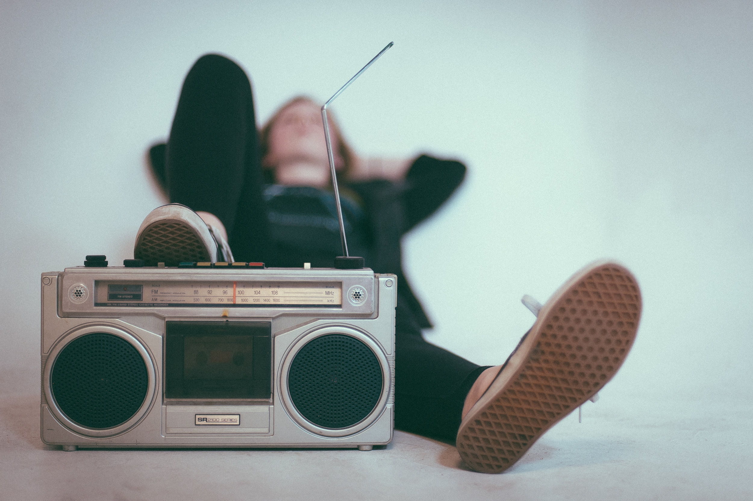 """""""All I have to do is click and enjoy."""" - A good playlist can instantly sway my mood."""
