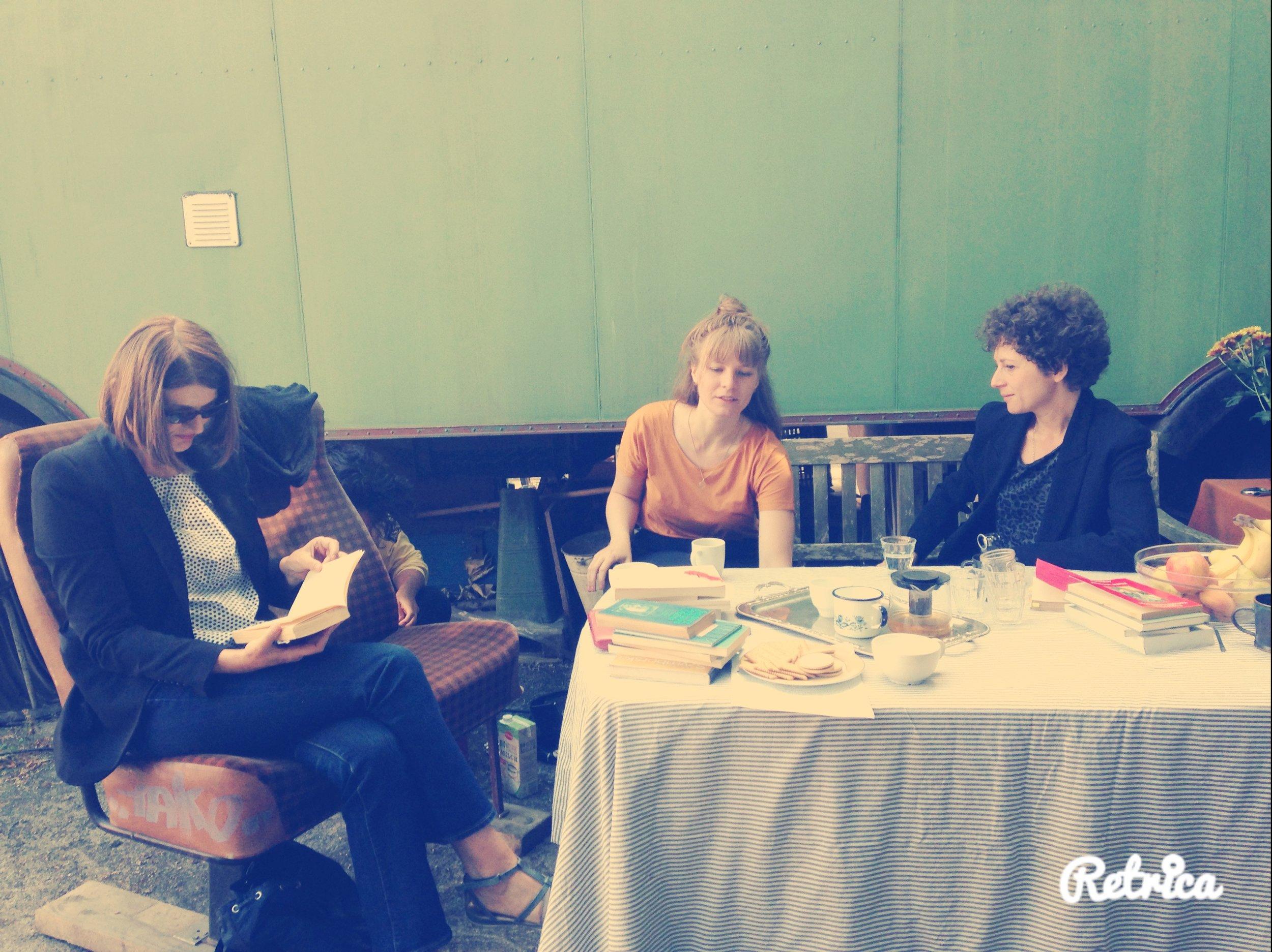 Sabine Scholl, Lena Vöcklinghaus, Sasha Marianna Salzmann