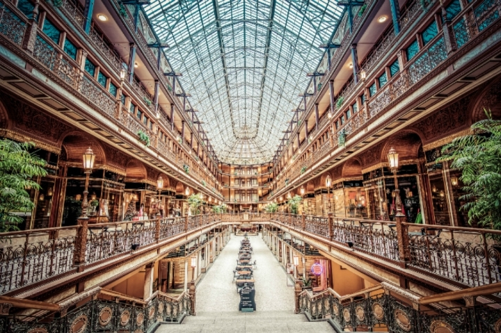 Seriously one of the most beautiful structures I've ever seen. Source:  http://www.theclevelandarcade.com/