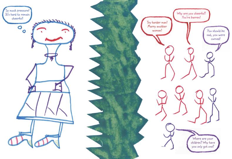 'Infertility Rift' from  DrawingOut