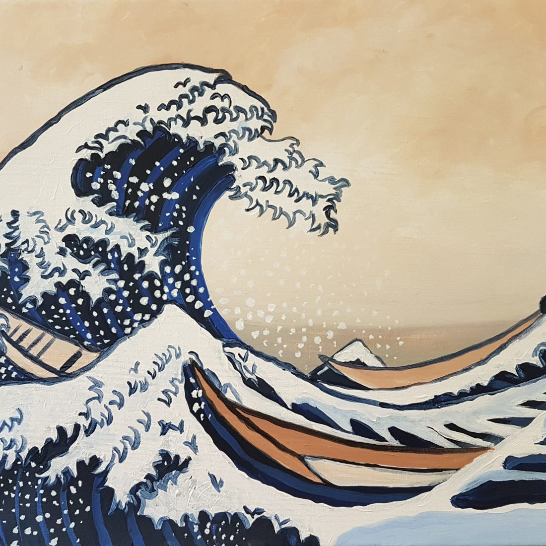 The Great Wave by Hasuka