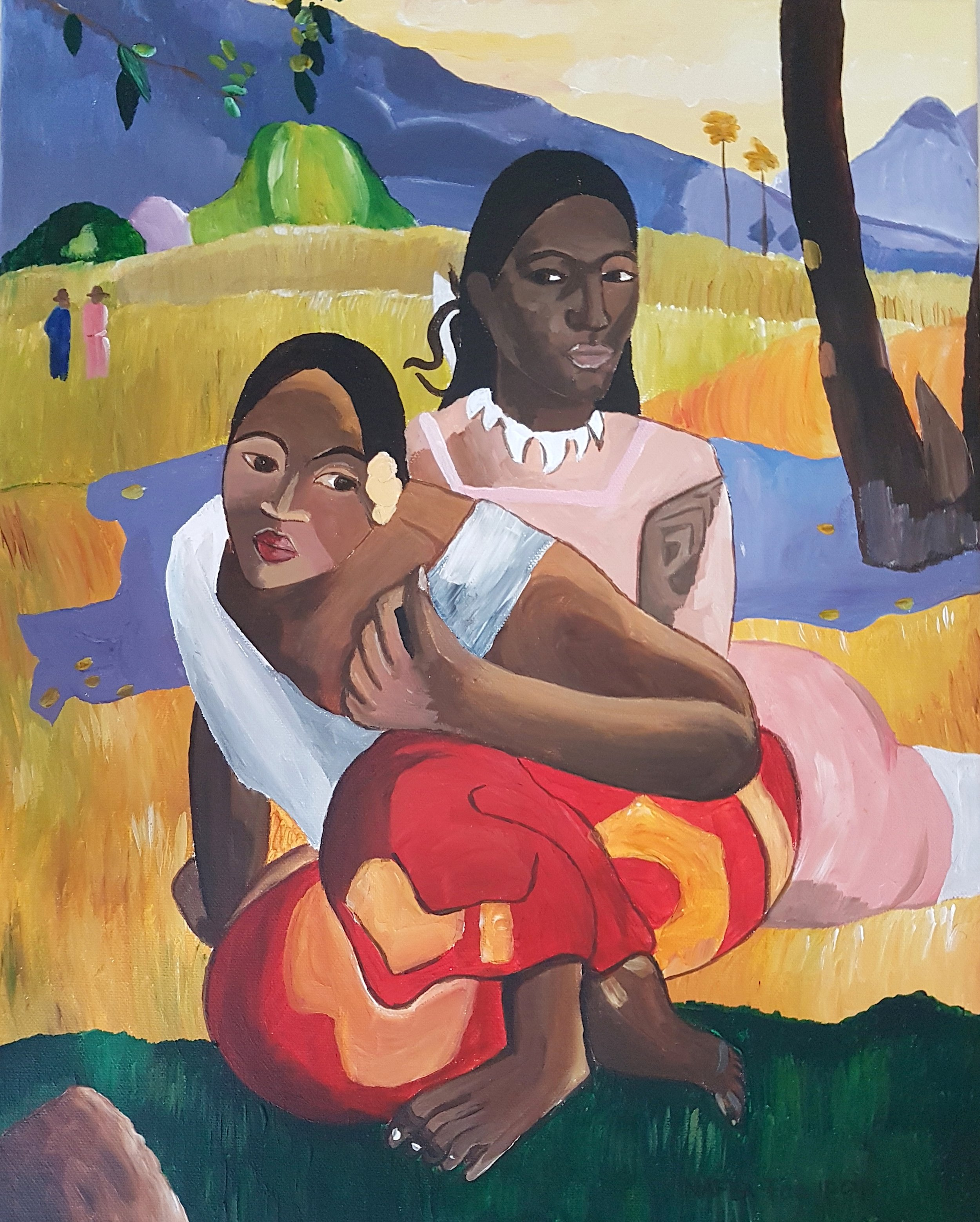 When will you Marry? by Gauguin