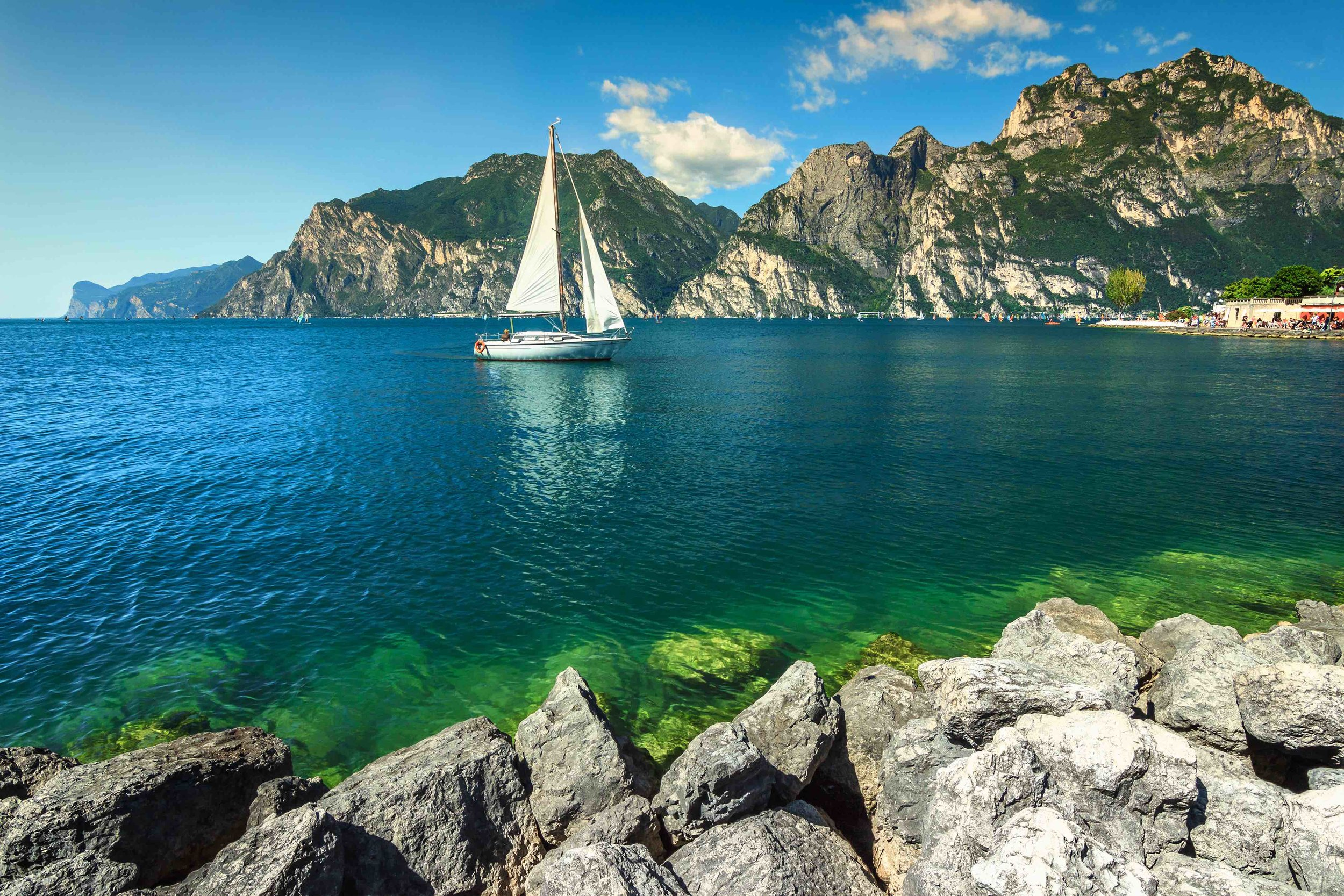 Amazing summer vacation leisure place with high mountains and Lake Garda copy.jpg