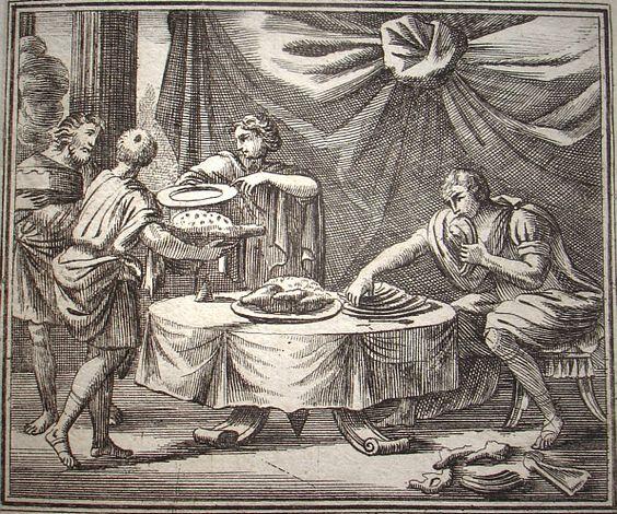Erysichthon's insatiable hunger
