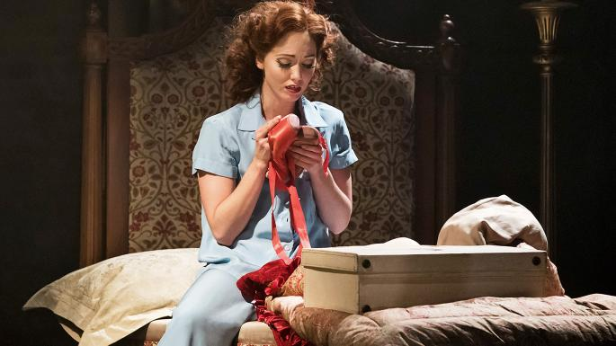 Ashley Shaw as Vicky Page in The Red Shoes