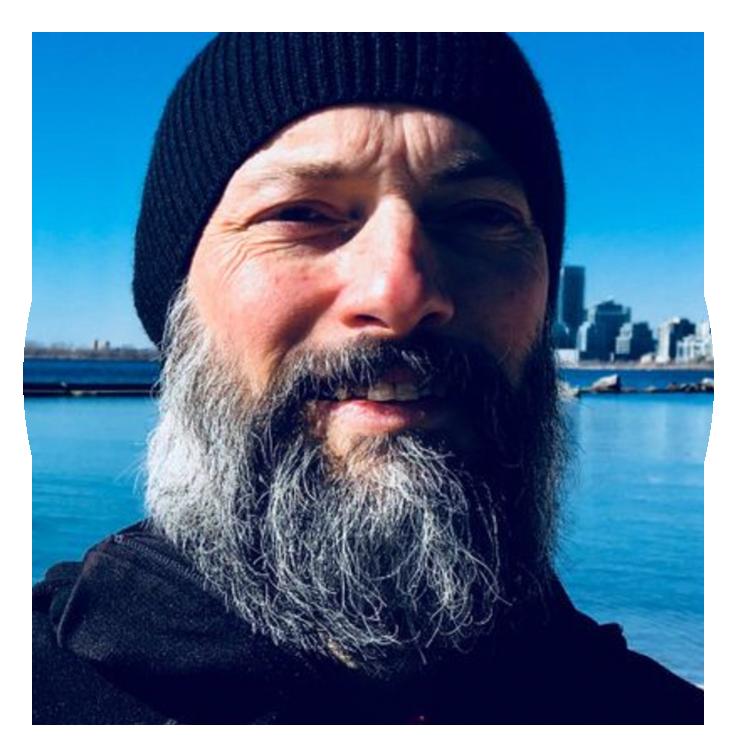 Steve Beattie founder of Breathing in Nature